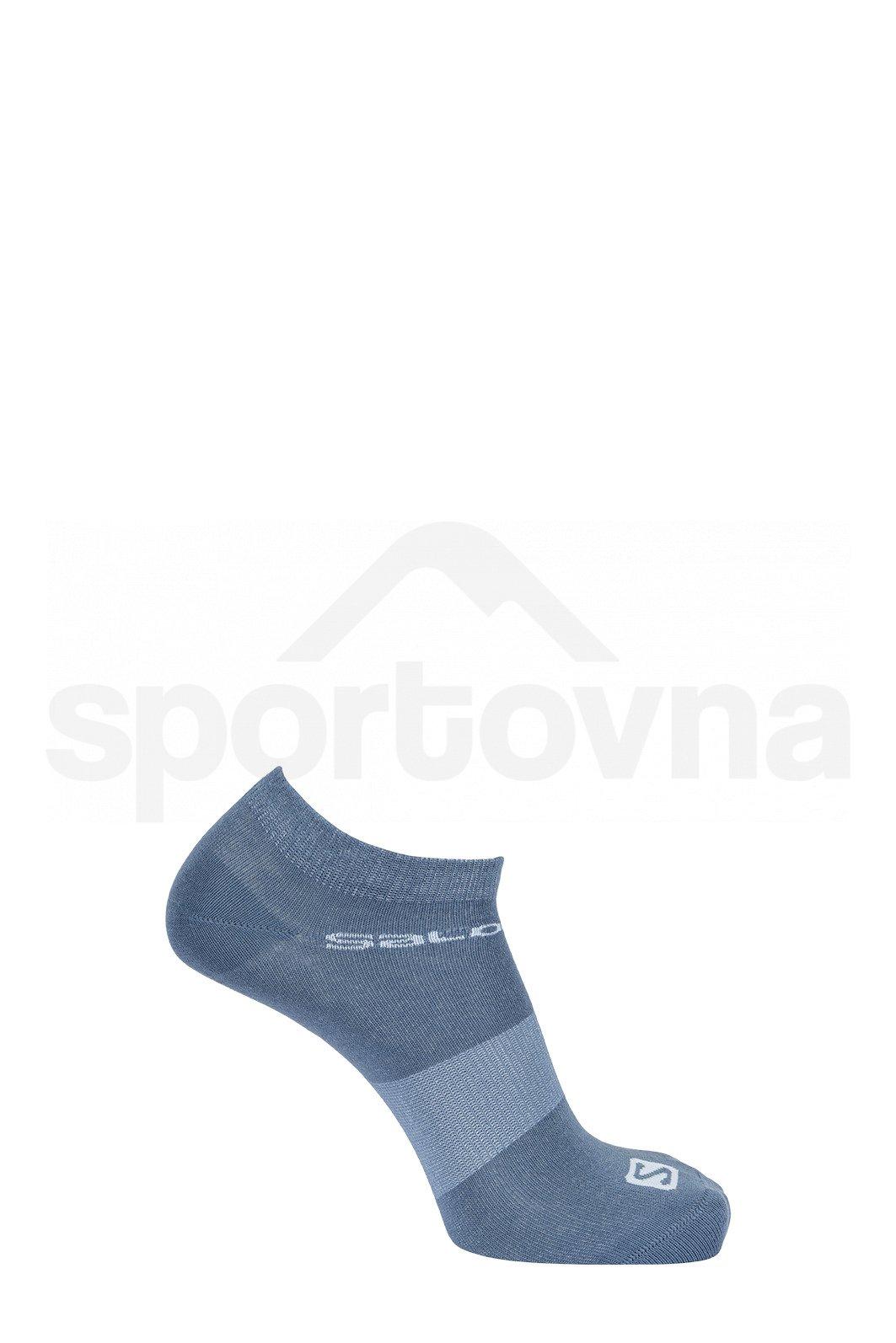 Ponožky Salomon FESTIVAL 2-PACK - modrá
