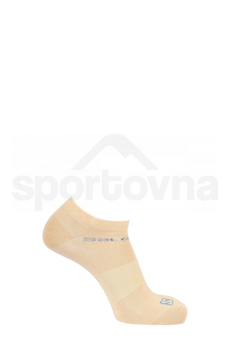 Ponožky Salomon FESTIVAL 2-PACK - růžová/žlutá