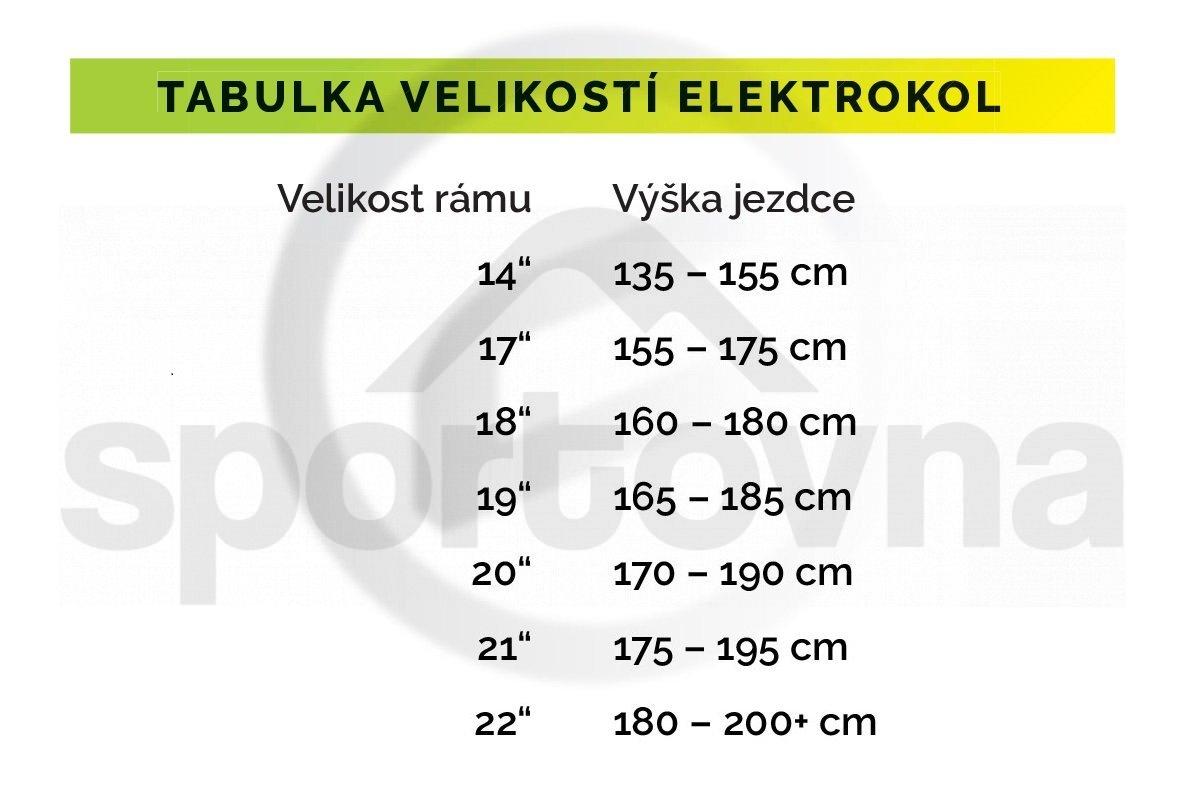 """Elektrokolo Crussis ONE-Largo 8.6-S 29"""" 2021 - černá/bílá"""