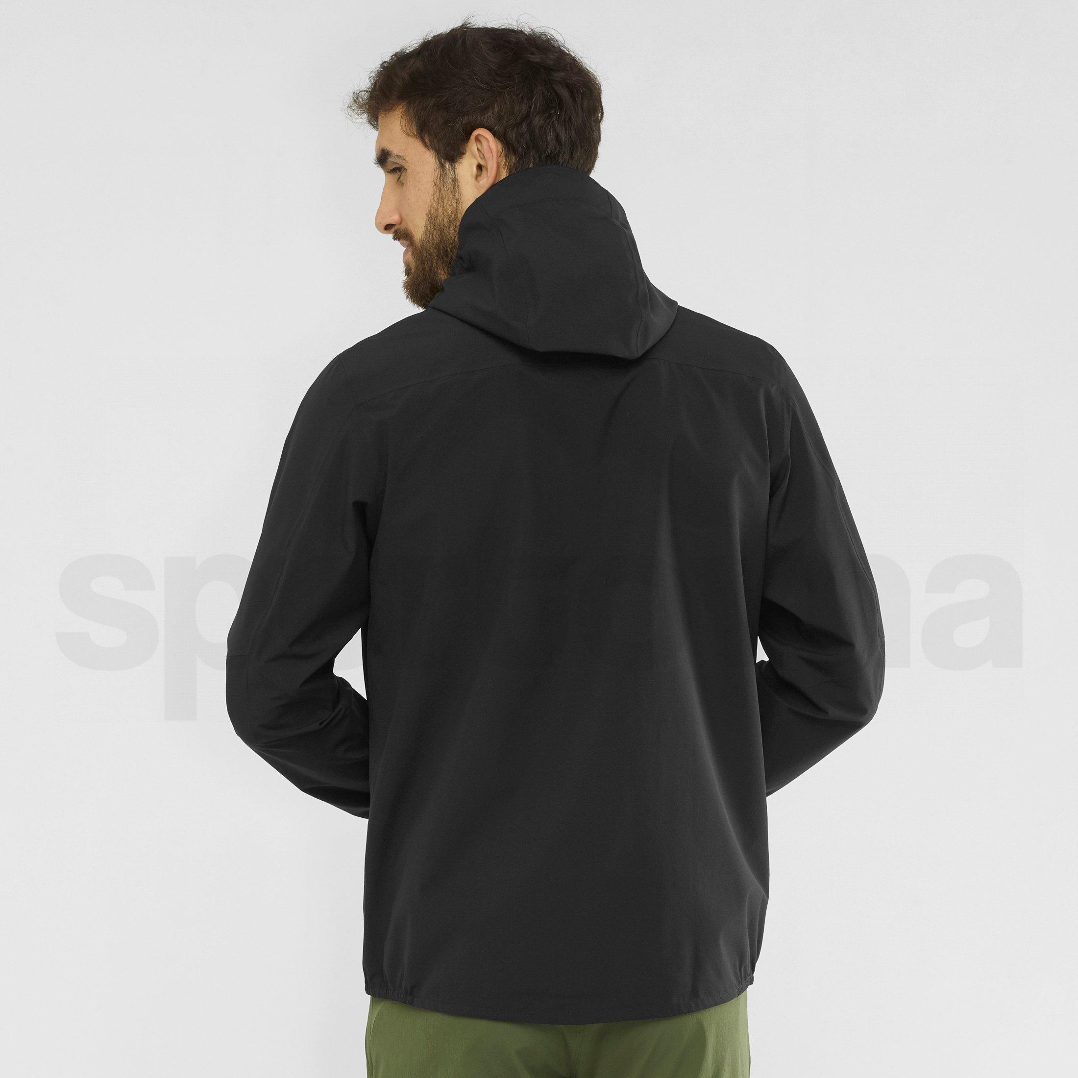 Bunda Salomon Outline JKT M - černá