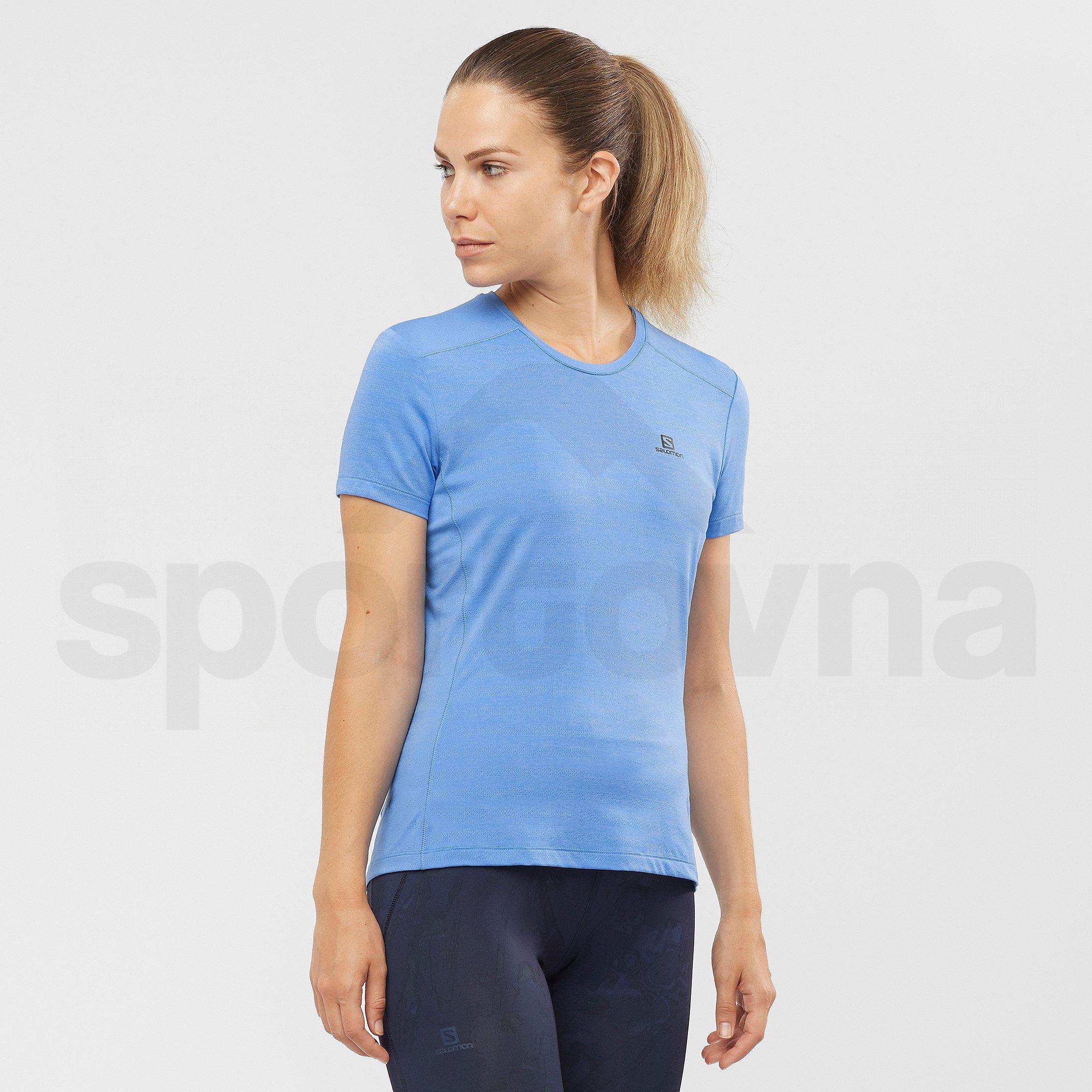Tričko Salomon XA Tee W - modrá