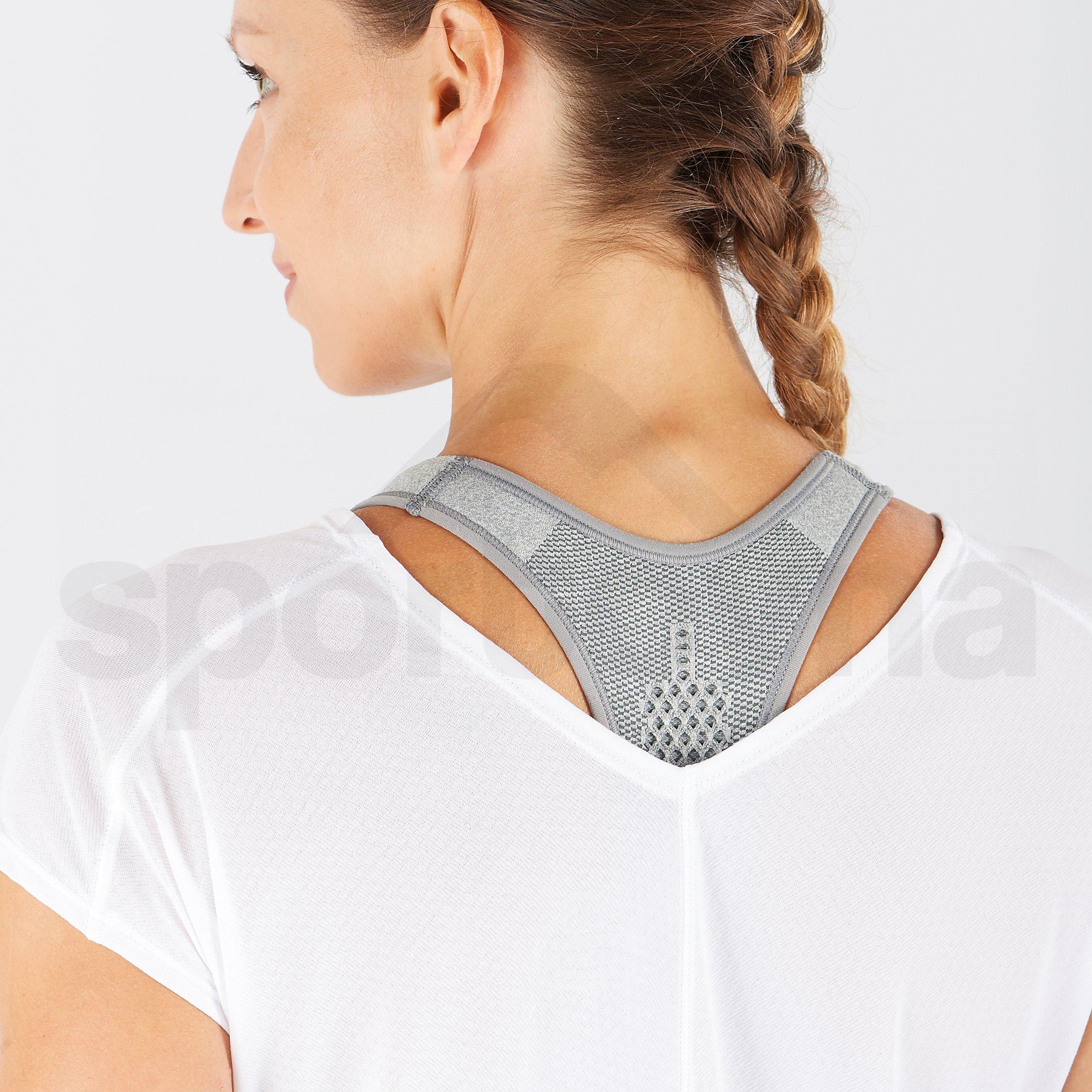 Tričko Salomon XA SS Tech Tee W - bílá