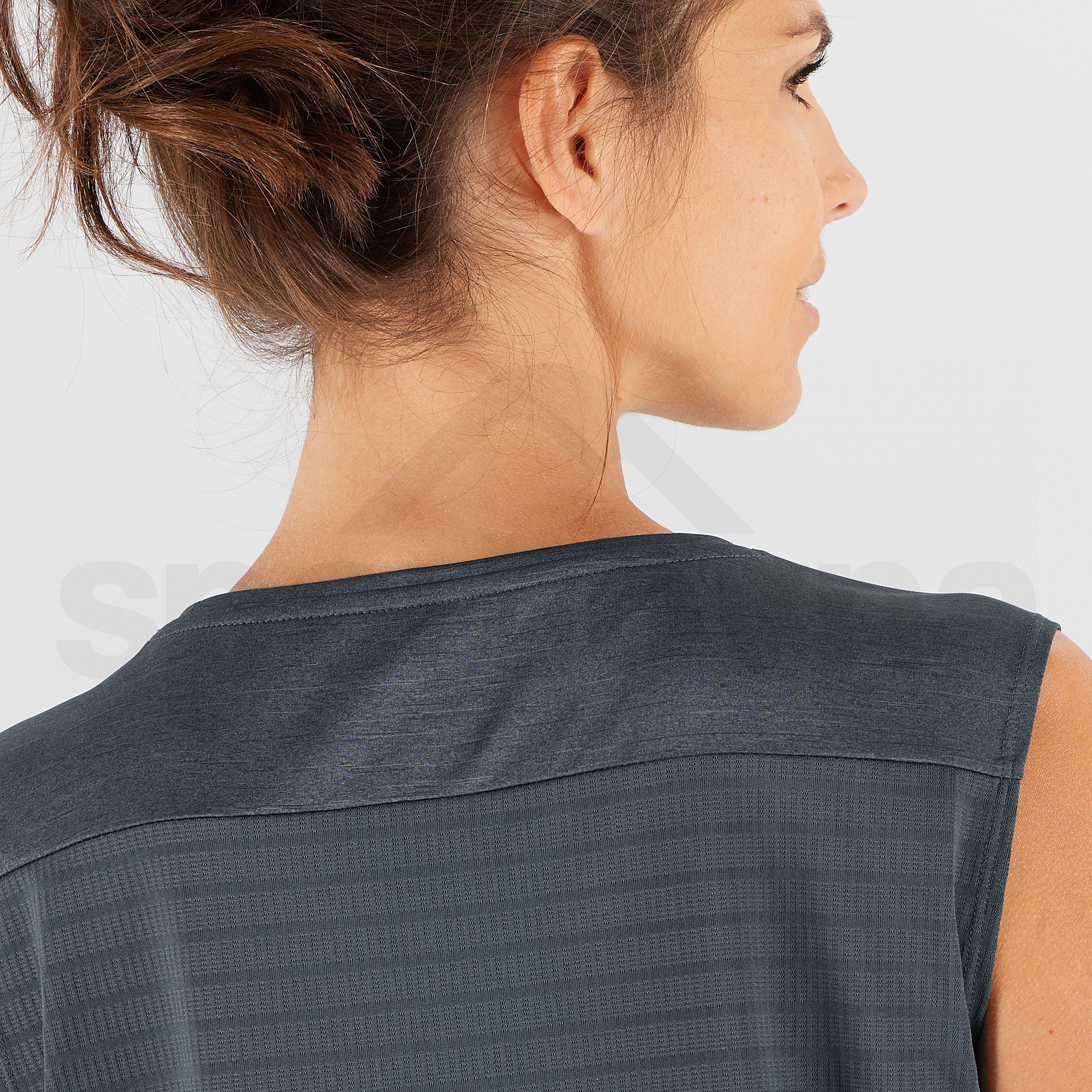 Tričko Salomon Outline Summer Tank W - černá