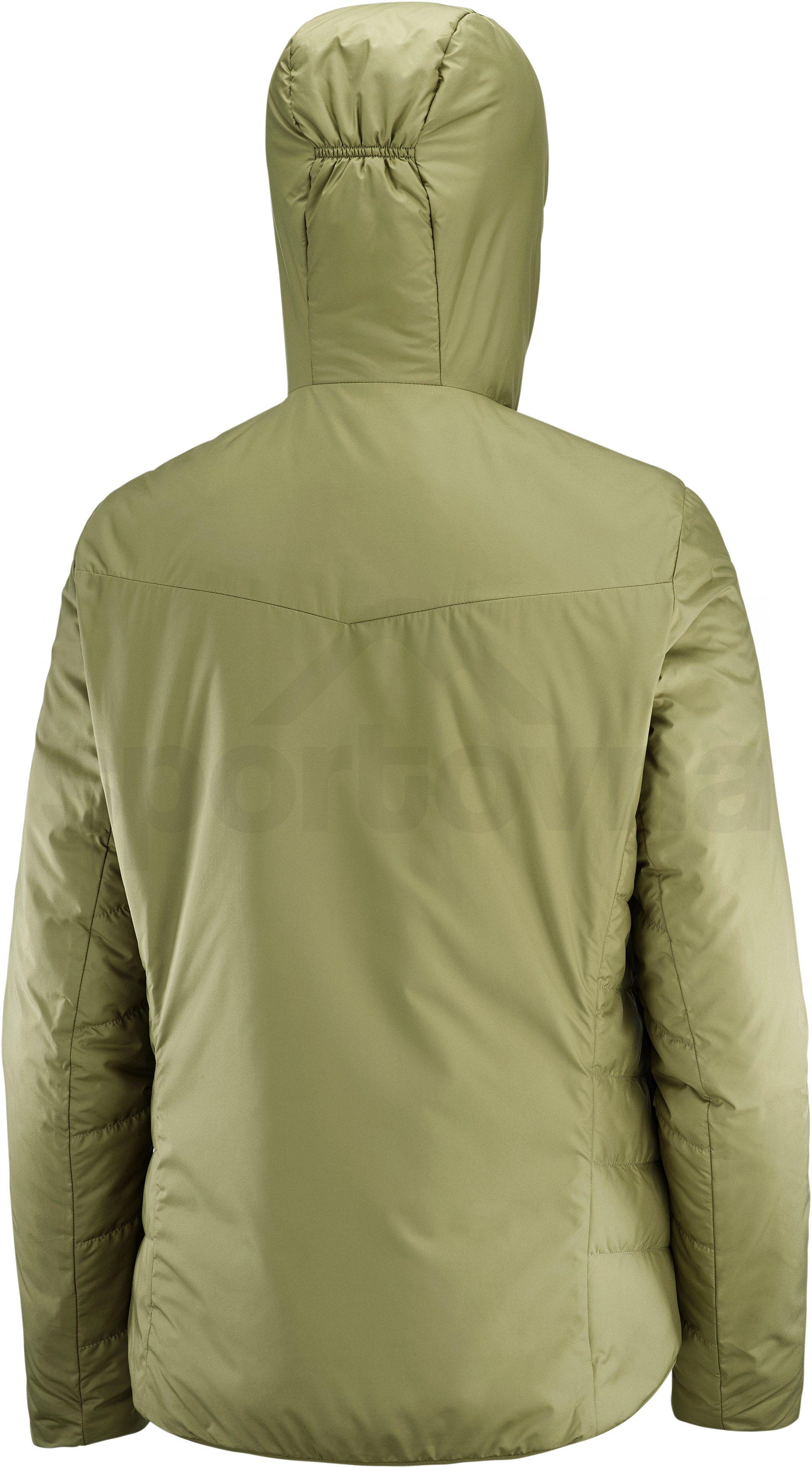 Bunda Salomon Outrack Insulated Hoodie W - zelená