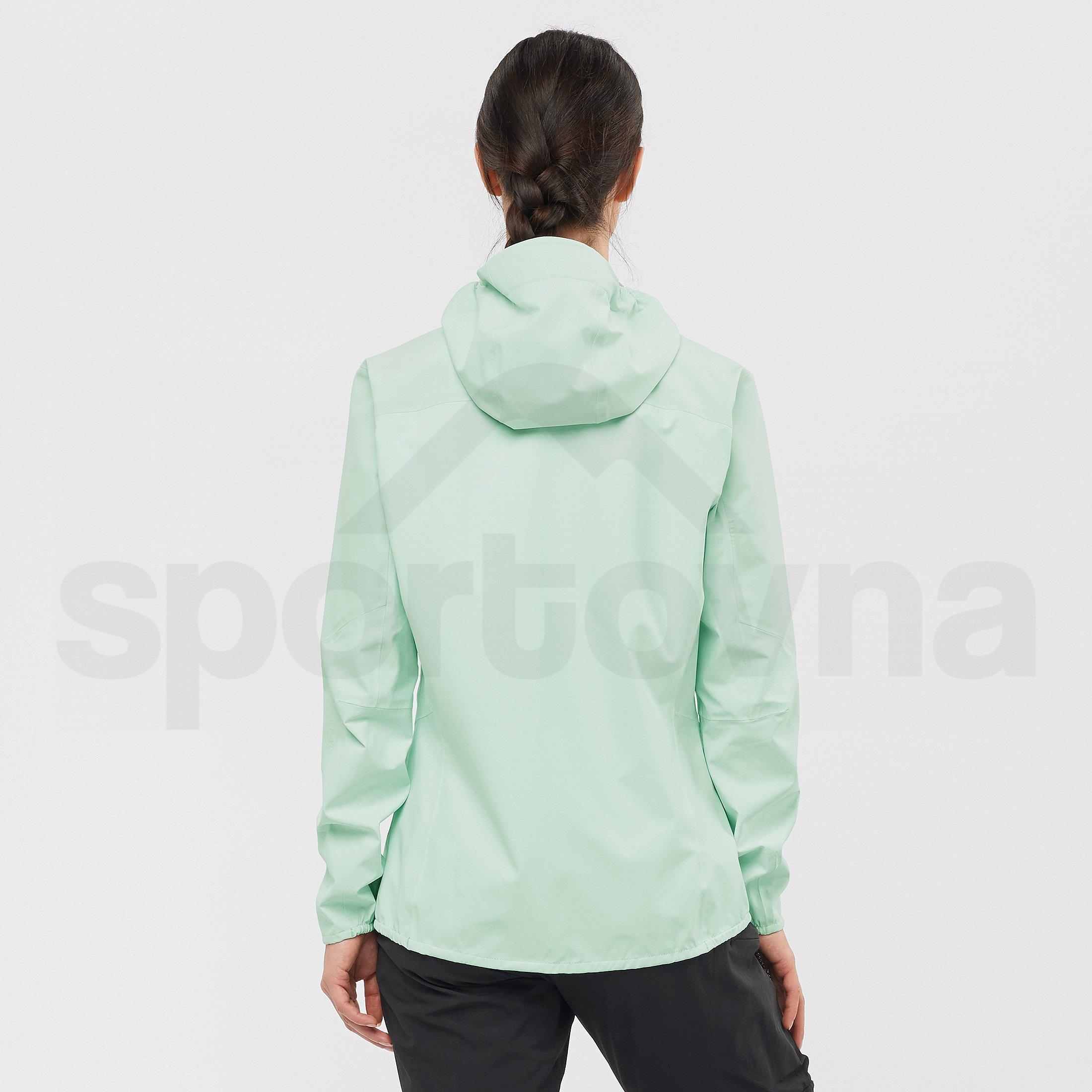 Bunda Salomon Outline Jacket W - zelená