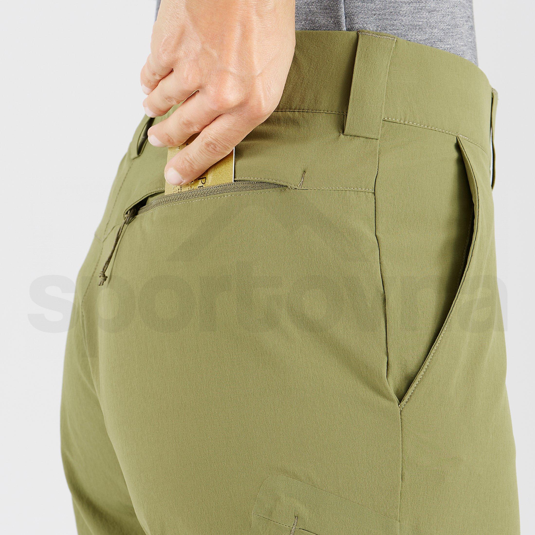 Kalhoty Salomon Wayfarer Pants W - zelená