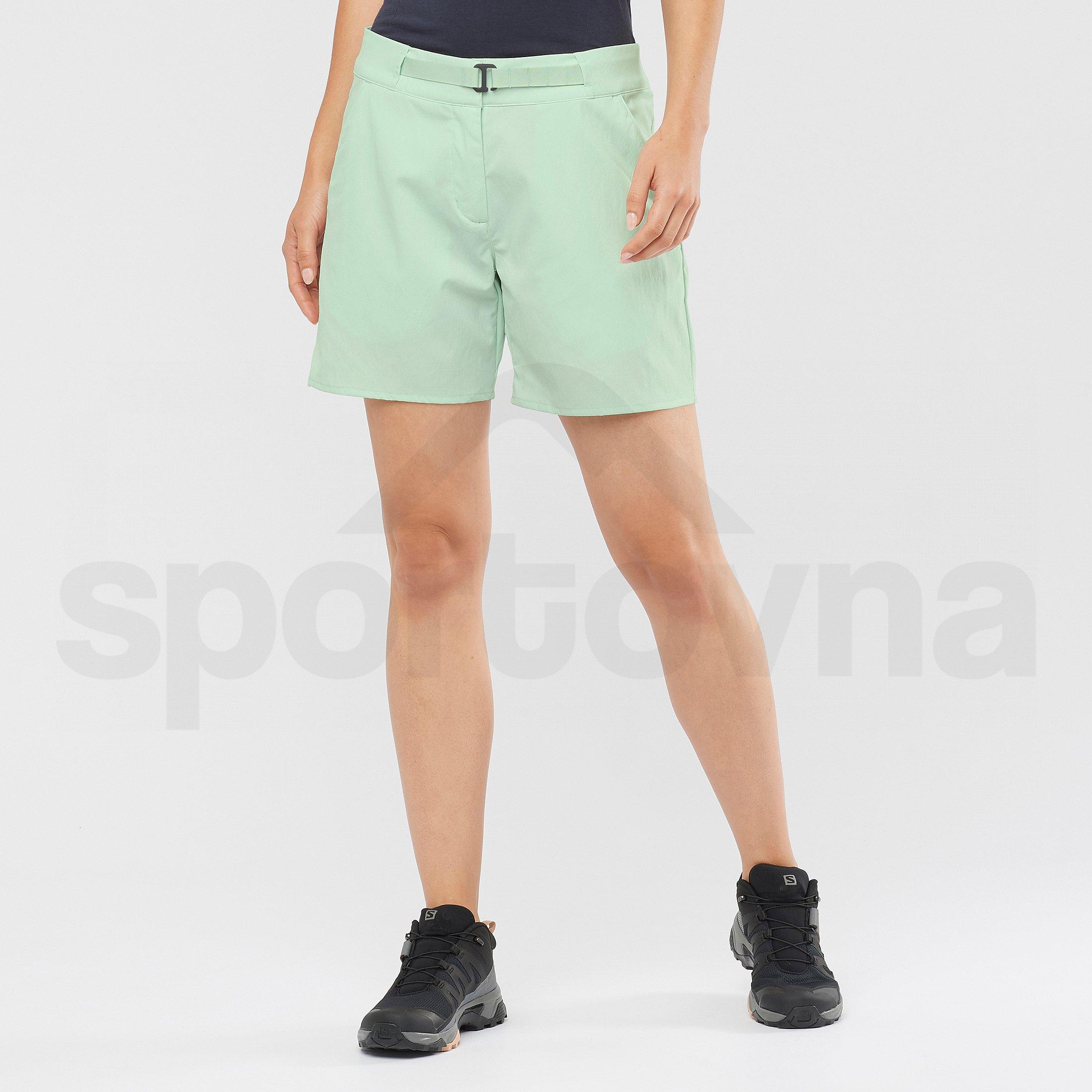 Kraťasy Salomon Outrack Shorts W - zelená