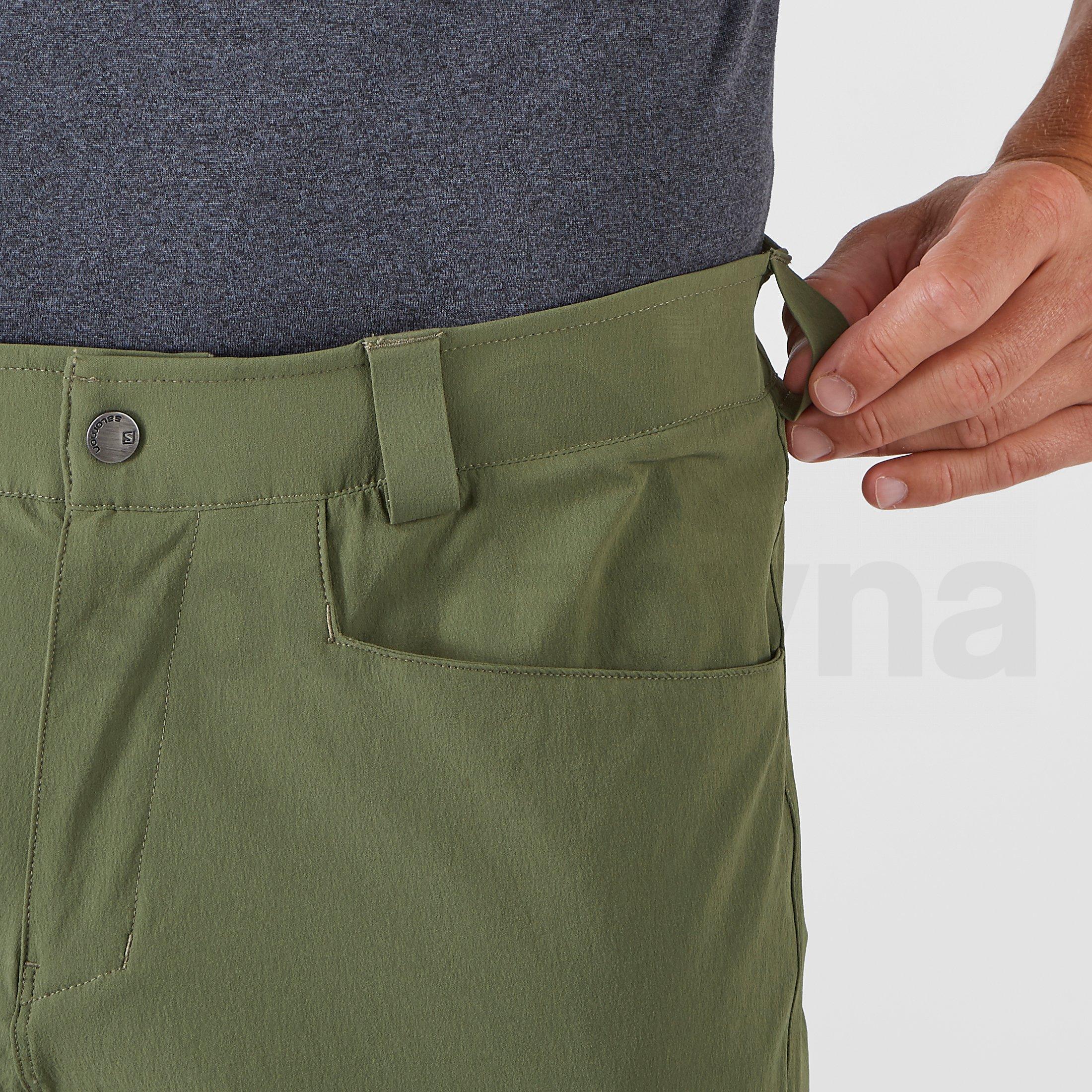 Kalhoty Salomon Wayfarer Tapered Pants M - zelená