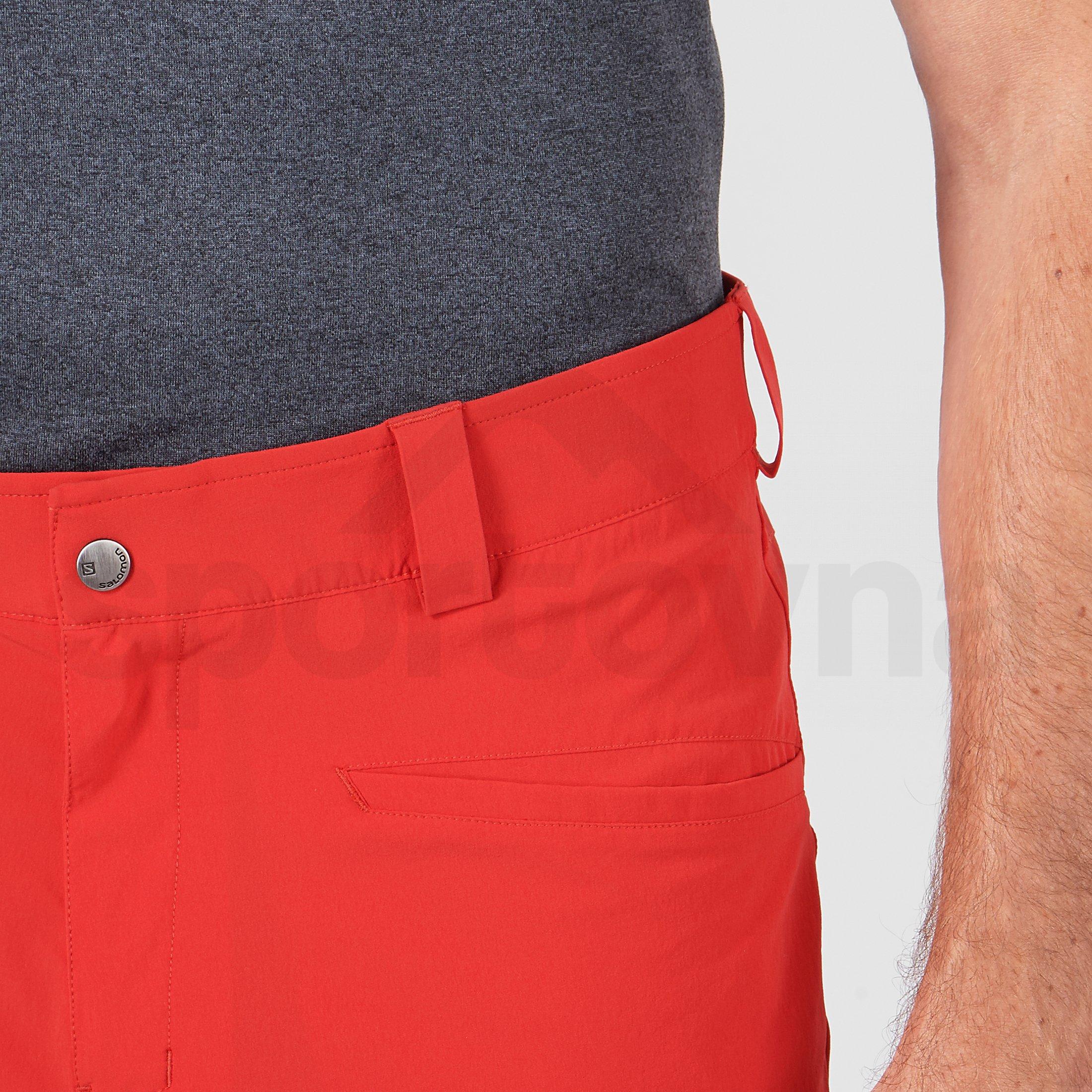 Kraťasy Salomon Wayfarer Shorts M - červená