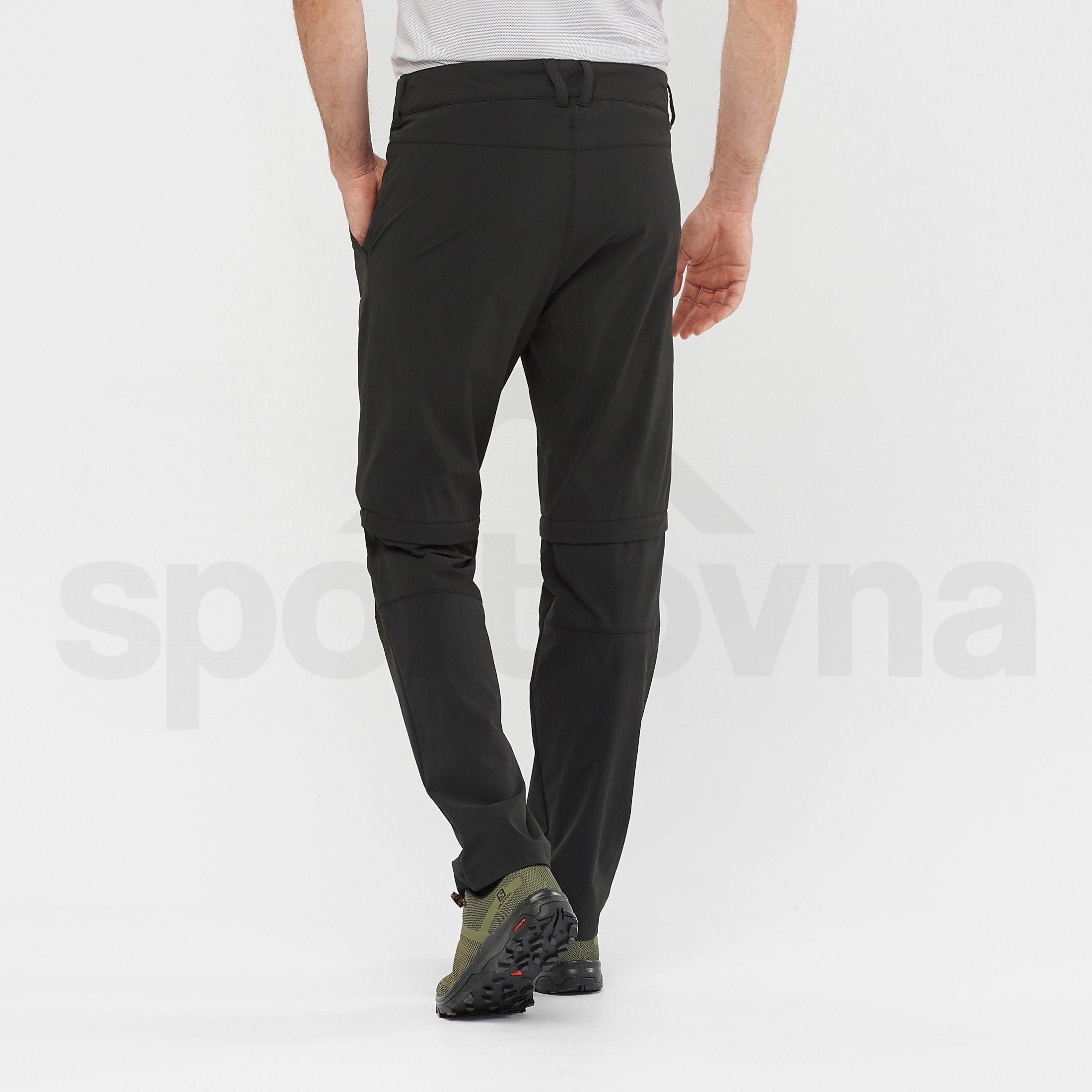 Kalhoty Salomon Wayfarer Zip Off Pants M - černá