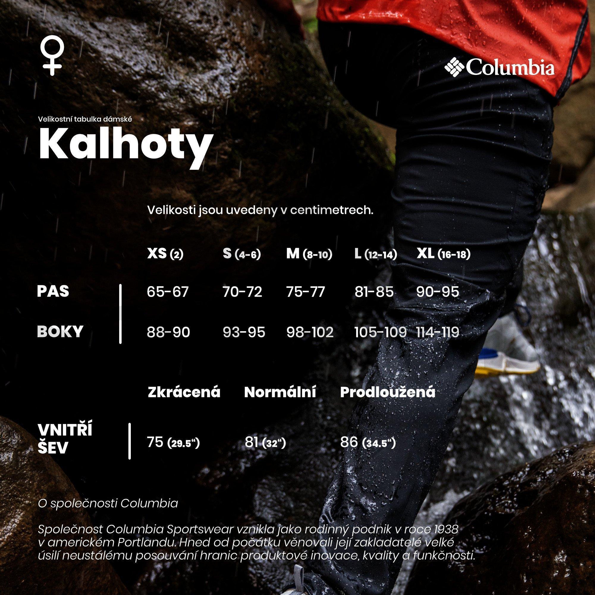 velikostni-tabulka-zeny-kalhoty-columbia