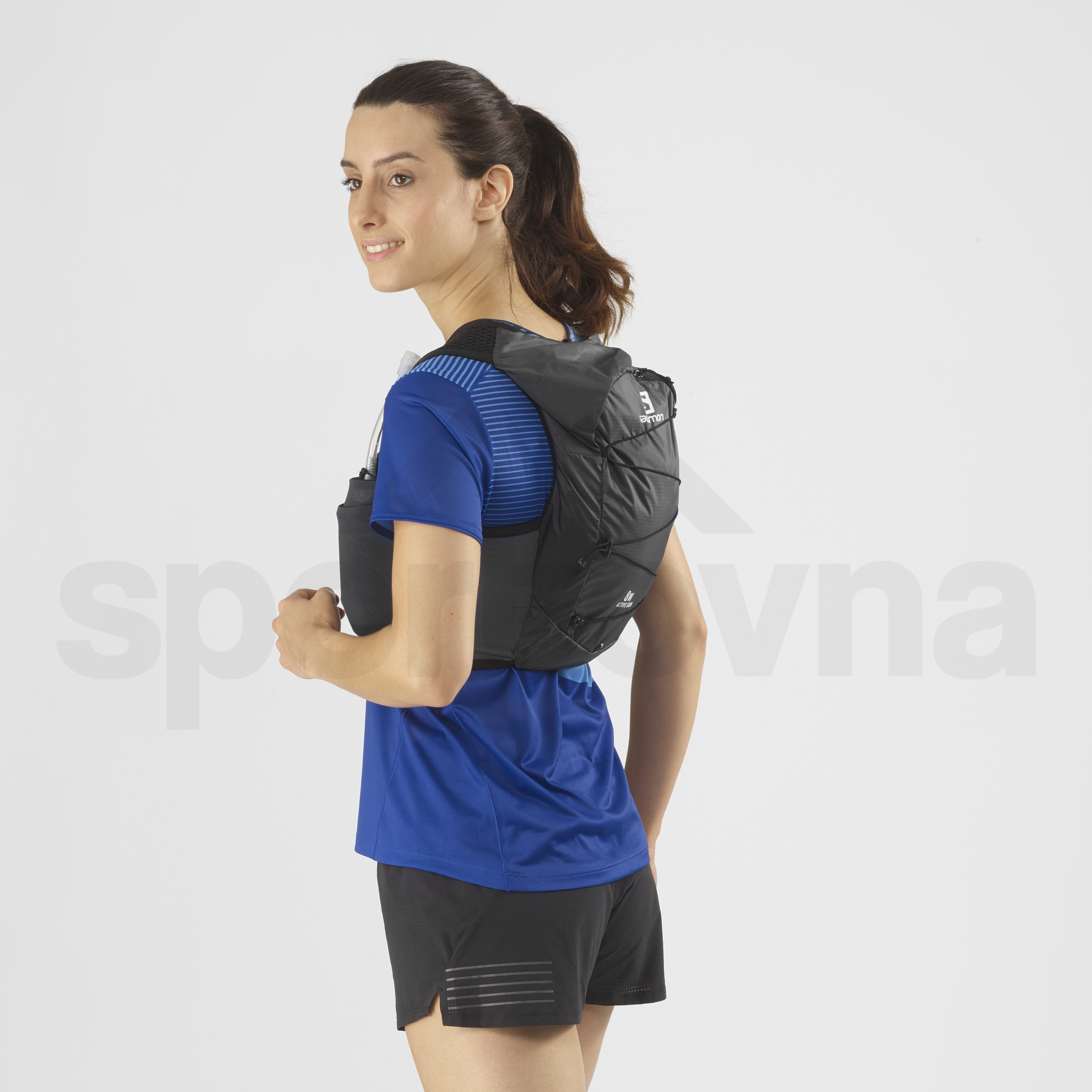 Batoh Salomon Active Skin 8 Set - černá