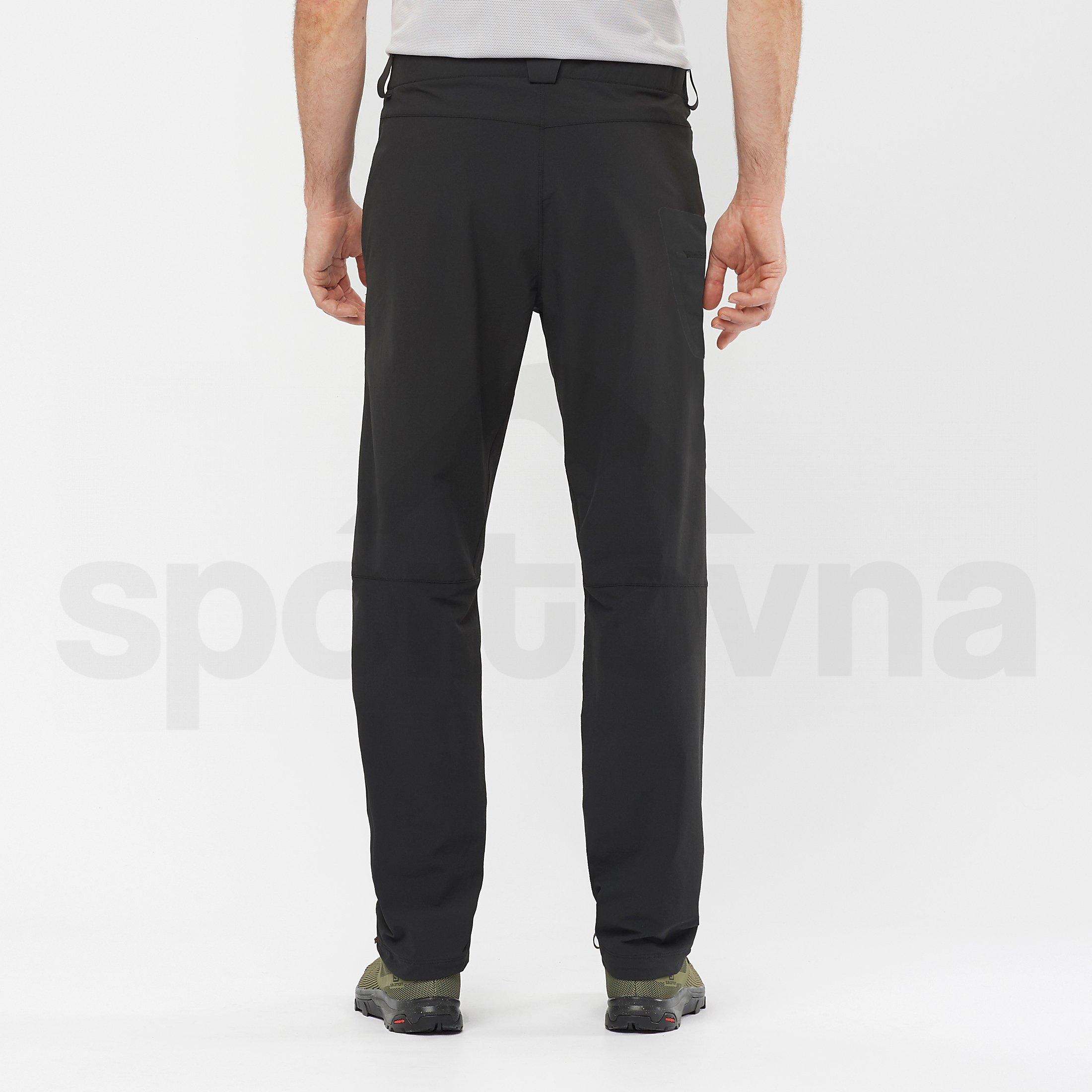 Kalhoty Salomon Wayfarer Straight Pant M - černá