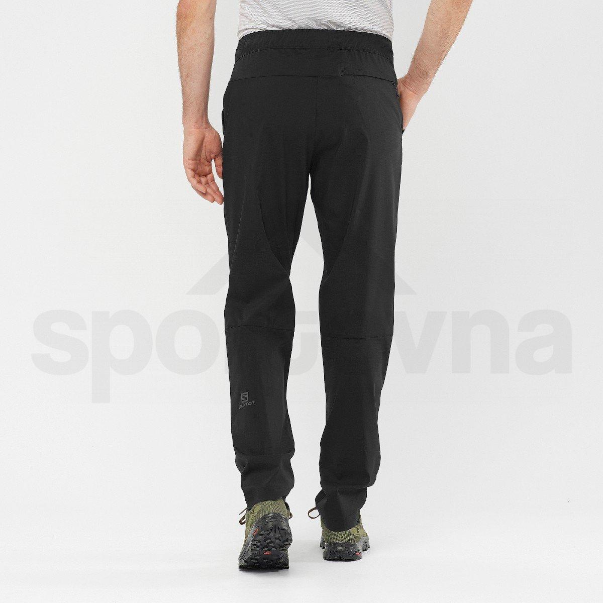 Kalhoty Salomon EXPLORE TAPERED PANTS M - černá