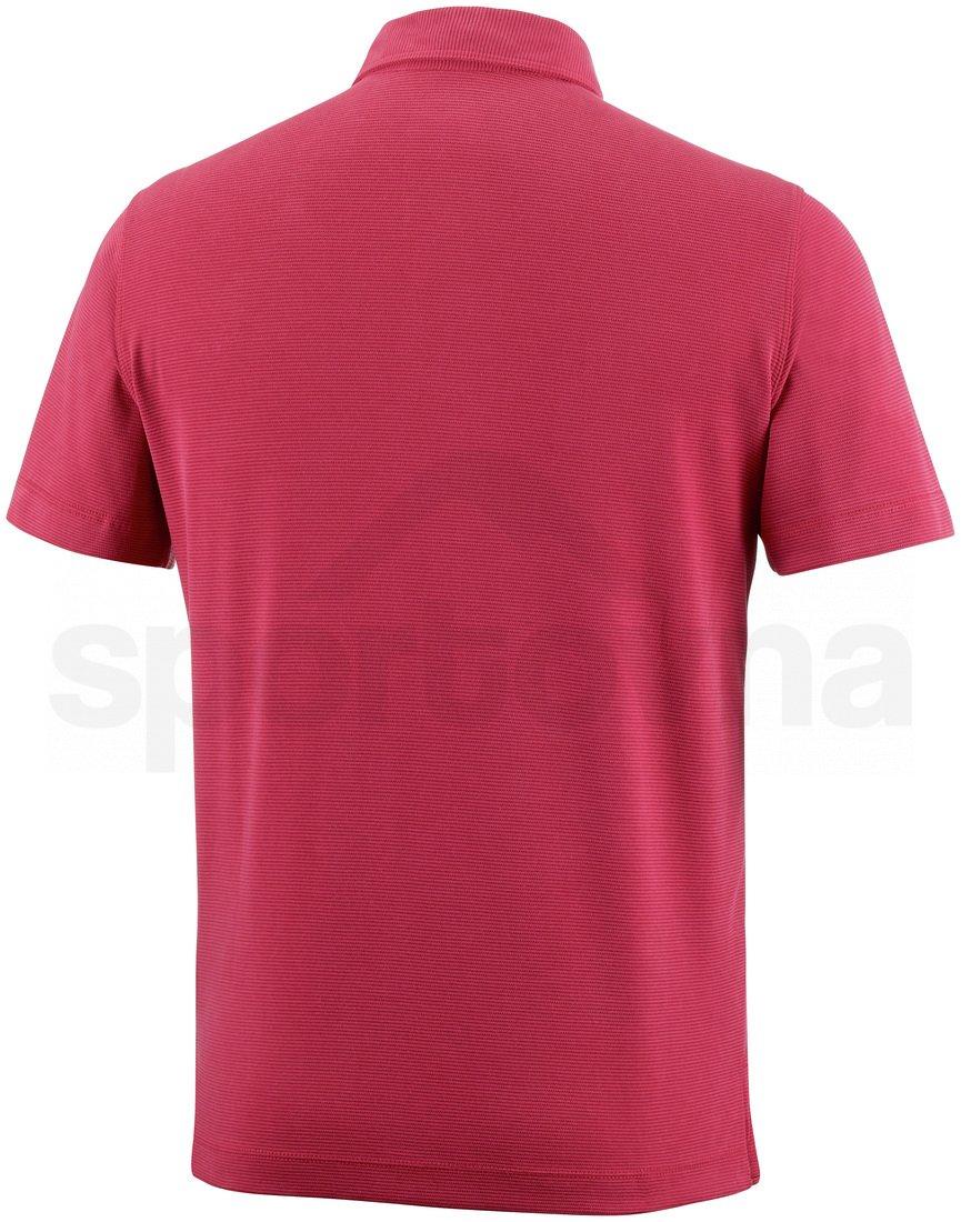 Tričko Columbia Sun Ridge™ Polo M - červená PLUS SIZE