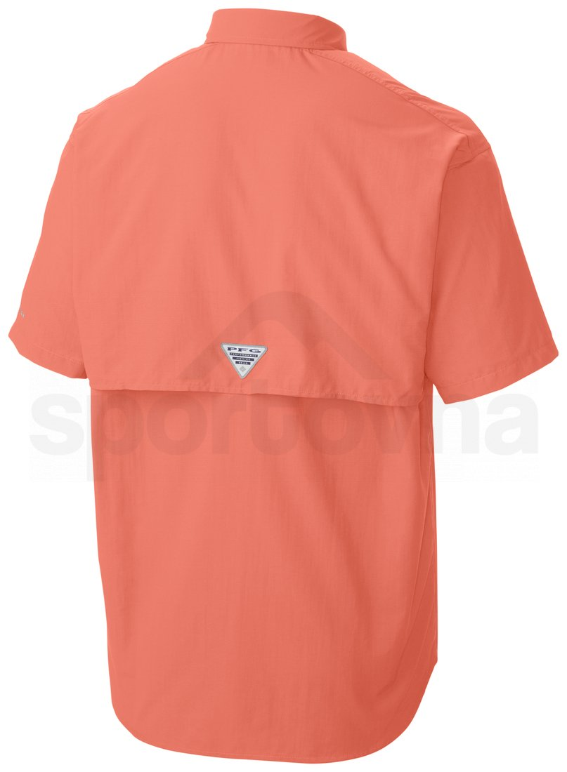 Košile Columbia Bahama II SS Shirt M - červená/oranžová