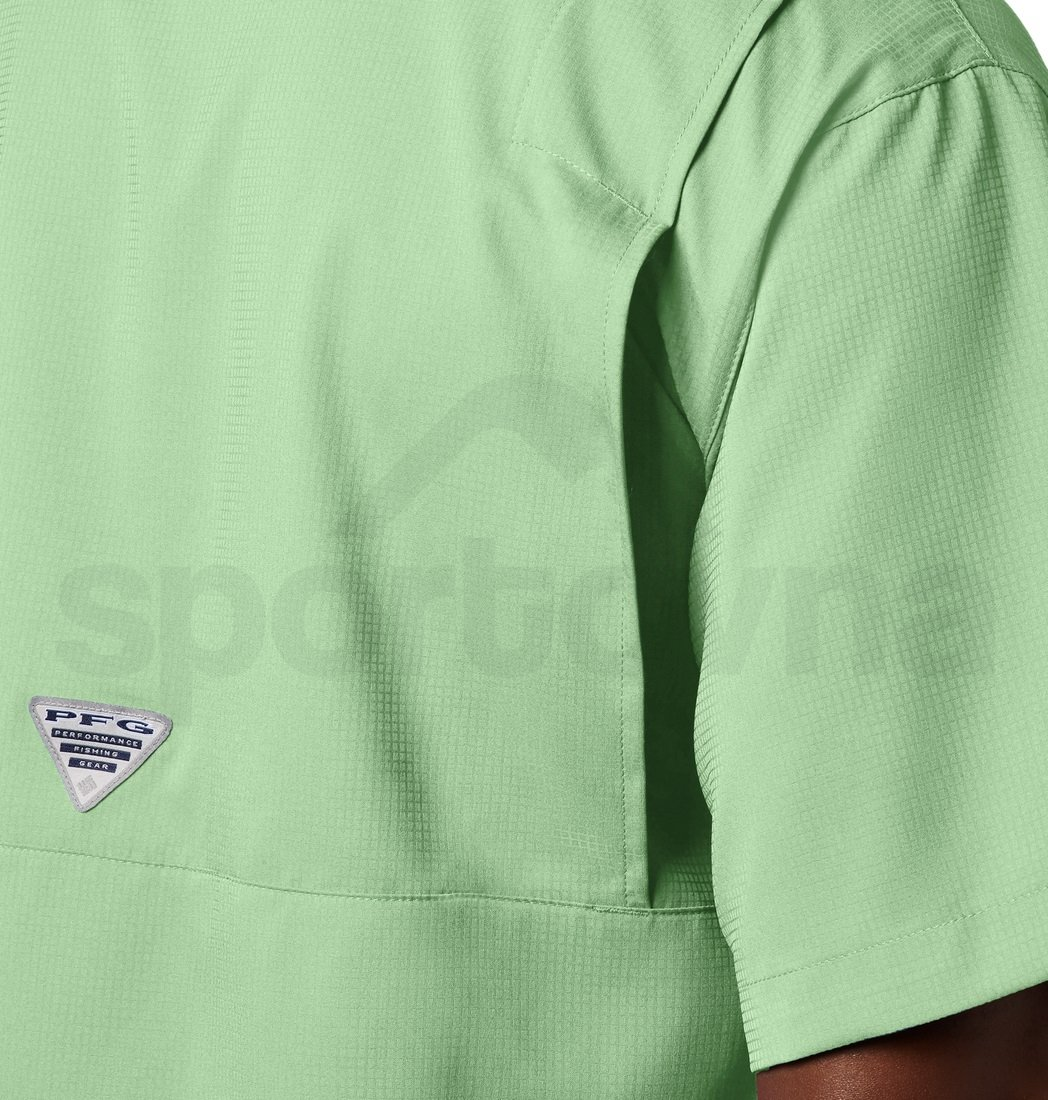 Košile Columbia Tamiami™ II SS Shirt M - světle zelená