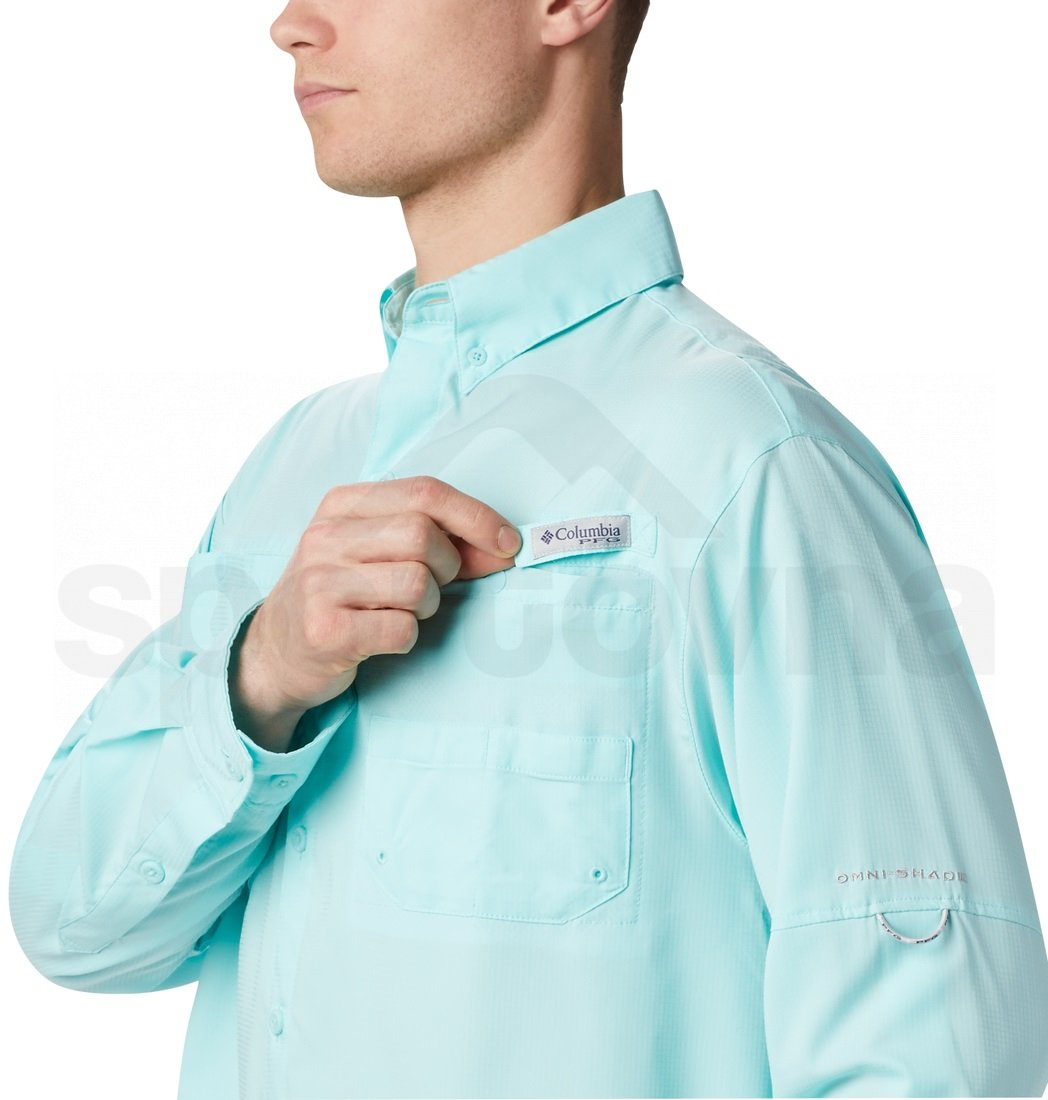 Košile Columbia Tamiami™ II LS Shirt M - modrá