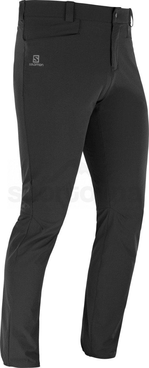 Kalhoty Salomon WAYFARER TAPERED PANTS M - černá