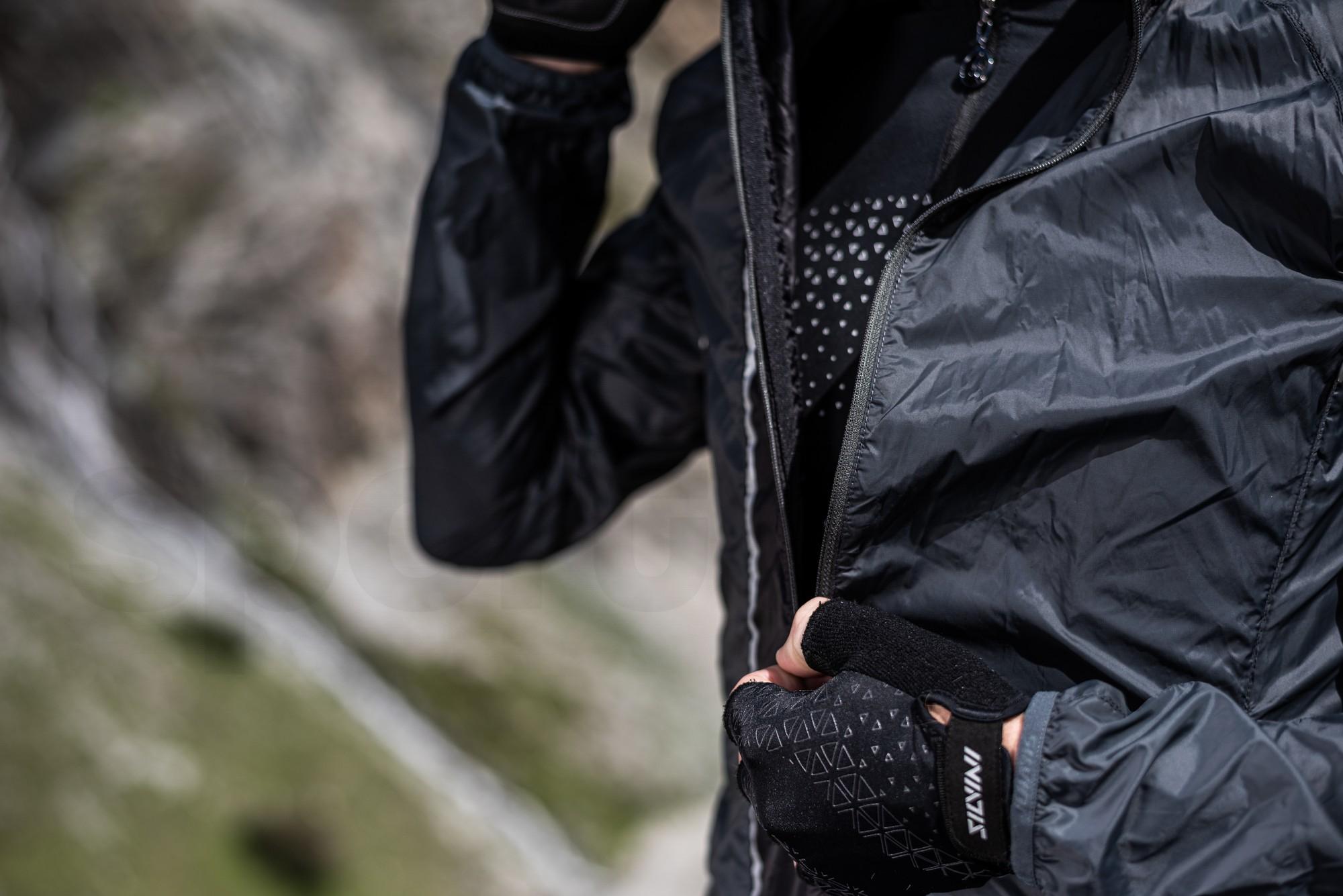 Pánská bunda Silvini ultra light Gela MJ1607 M - černá
