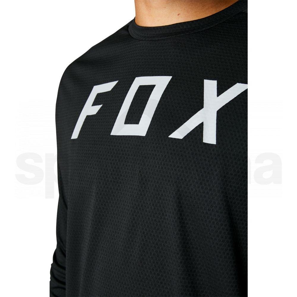 Dres Fox Defend Ls Jersey - černá