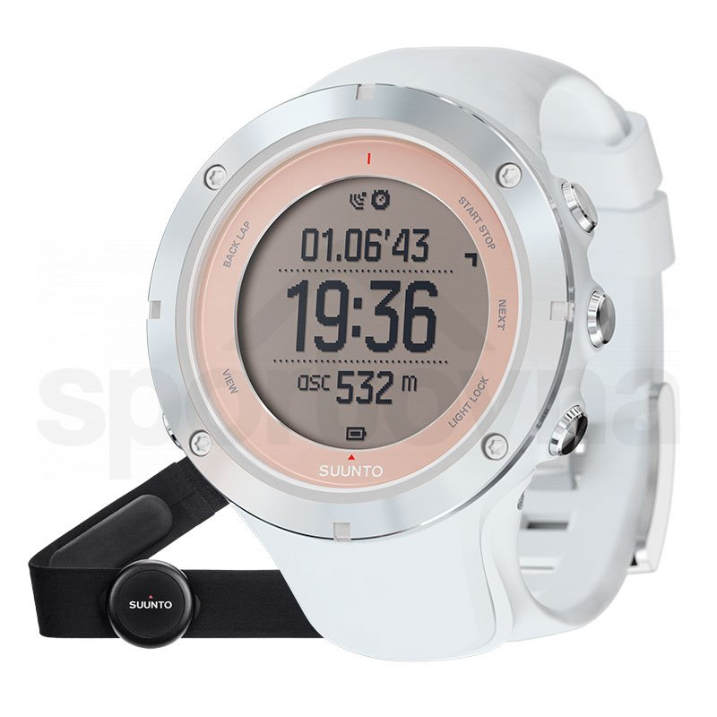 Sportovní hodinky Suunto AMBIT3 SPORT SAPPHIRE HR - bílá 1