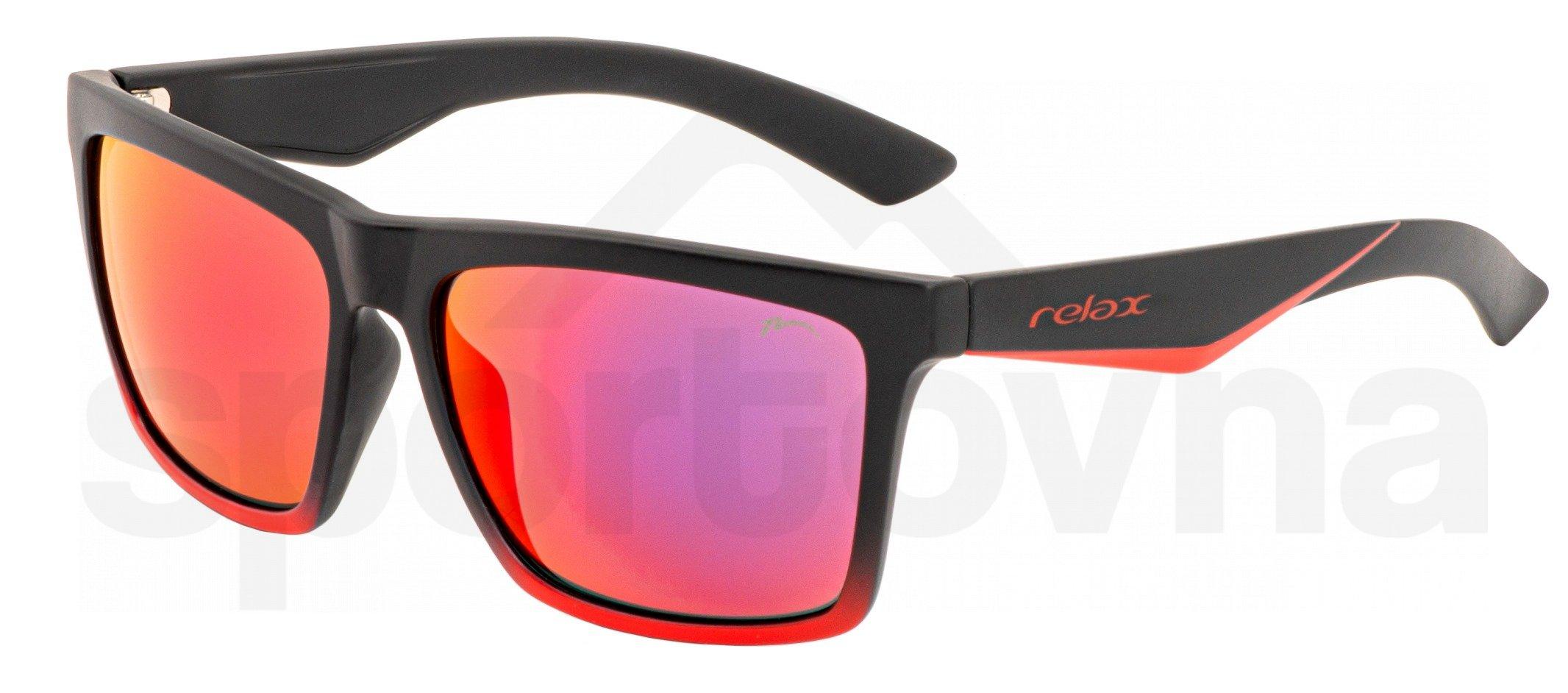 Sluneční brýle Relax Cobi - černá/červená