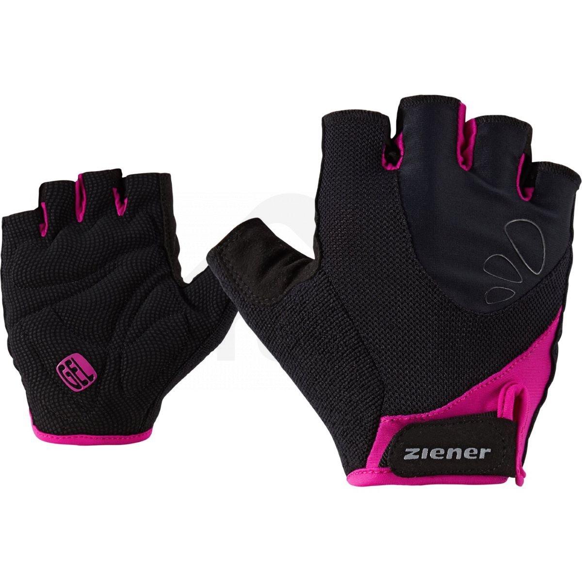 Ziener Capela black-pink