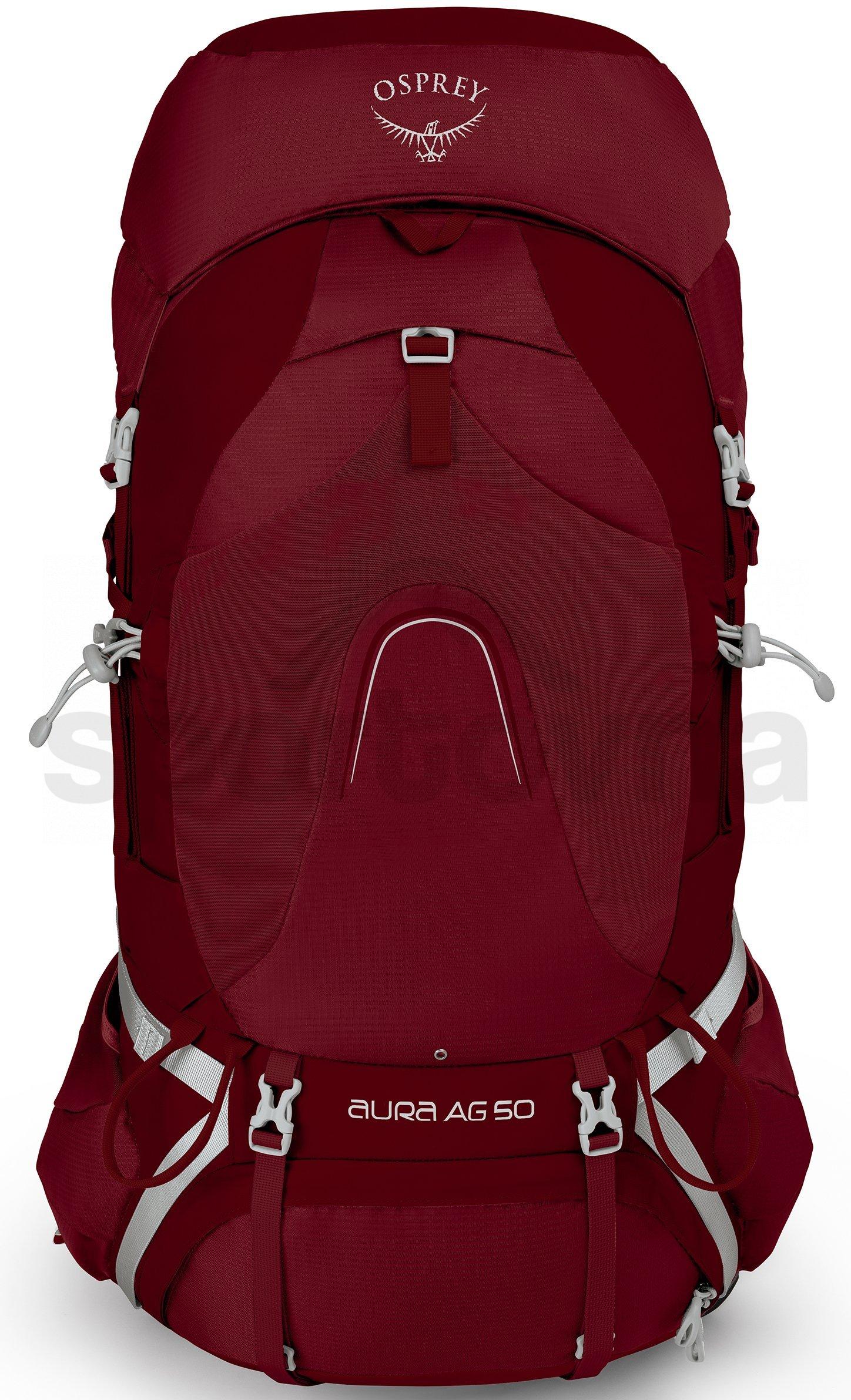 Batoh Aura AG 50 II - červená