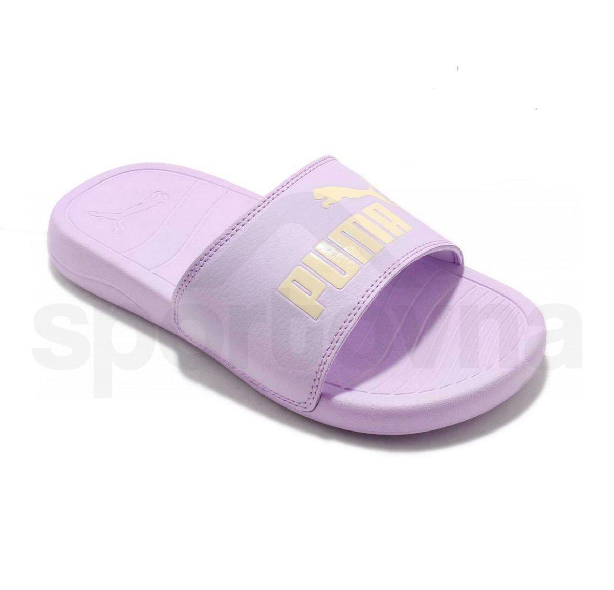 Pantofle Popcat 20 - fialová 1