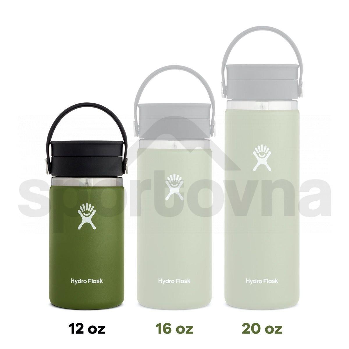 Termohrnek Hydro Flask Coffee Wide Mouth Flex Sip Lid 12 oz - bílá