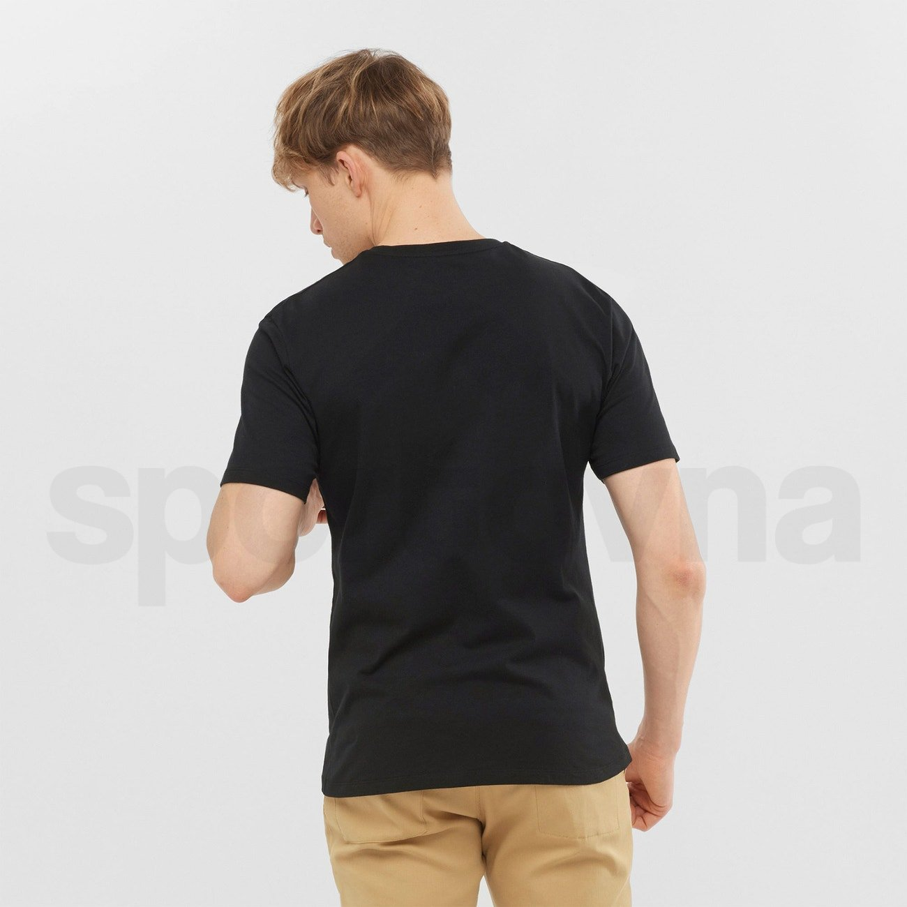 Tričko Salomon OUTLIFE GRAPHIC SPEEDCROS M - černá