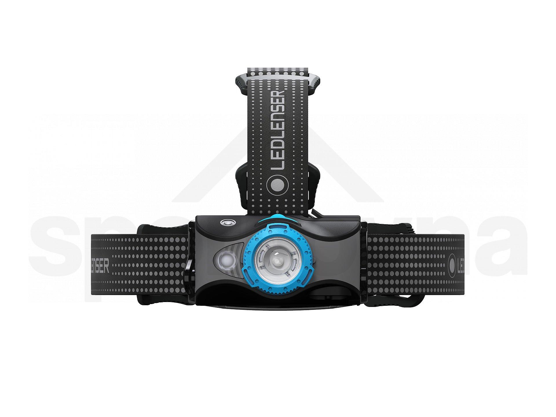 Čelovka LedLenser MH7 - černá/modrá