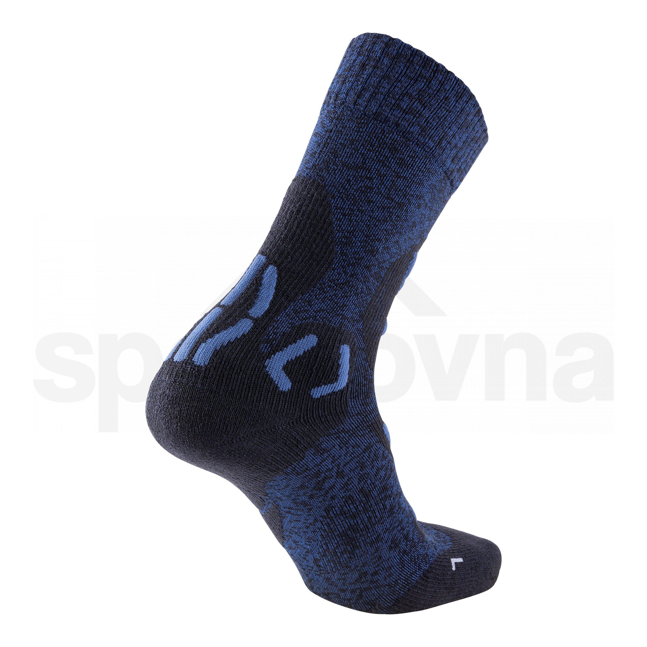 Pánské ponožky UYN TREKKING EXPLORER LIGHT - tmavě modrá/černá