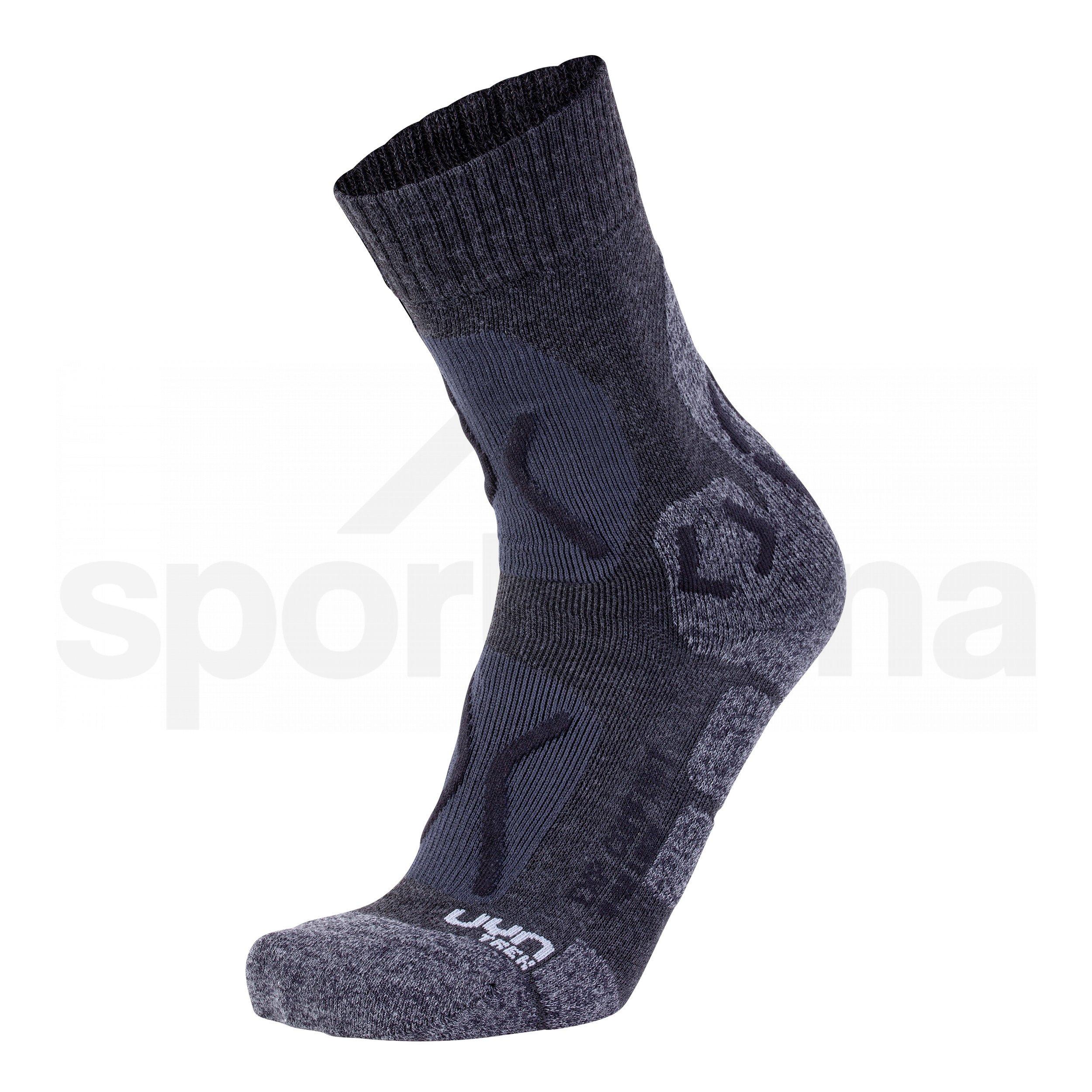 Dámské ponožky UYN TREKKING EXPLORER COMFORT - černá