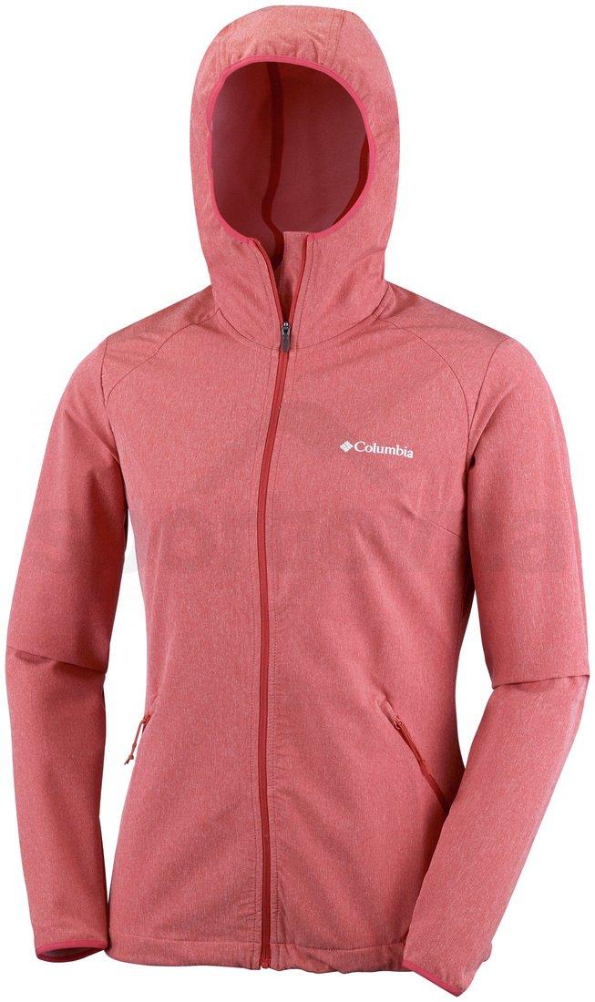 Bunda Columbia Heather Canyon™ Softshell Jacket W - červená