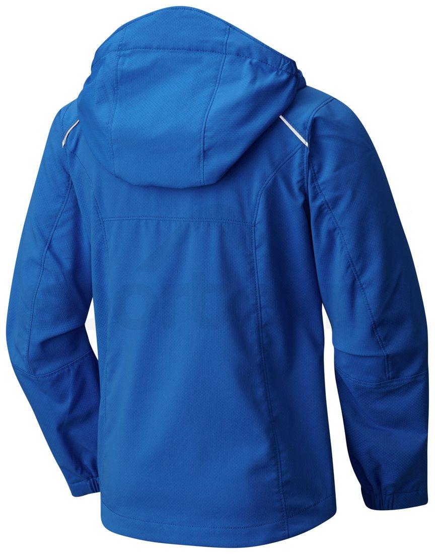 Bunda Columbia SplashFlash II Hooded Softshell Jacket J - modrá