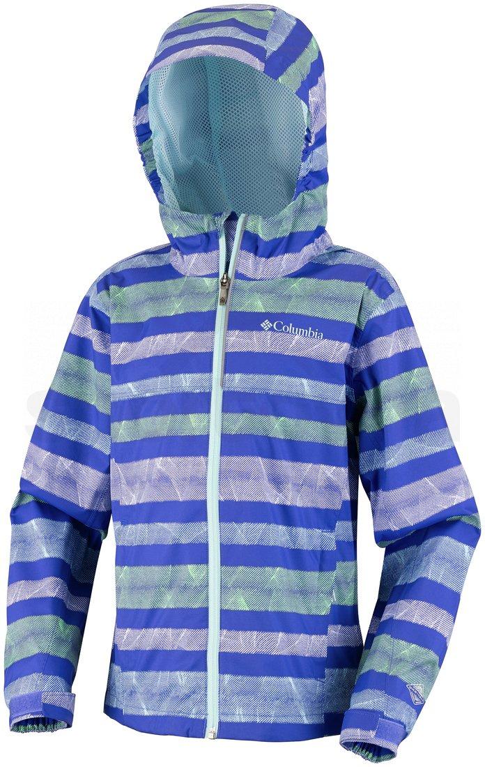 Bunda Columbia Splash Maker™ III Rain Jacket J - modrá/zelená