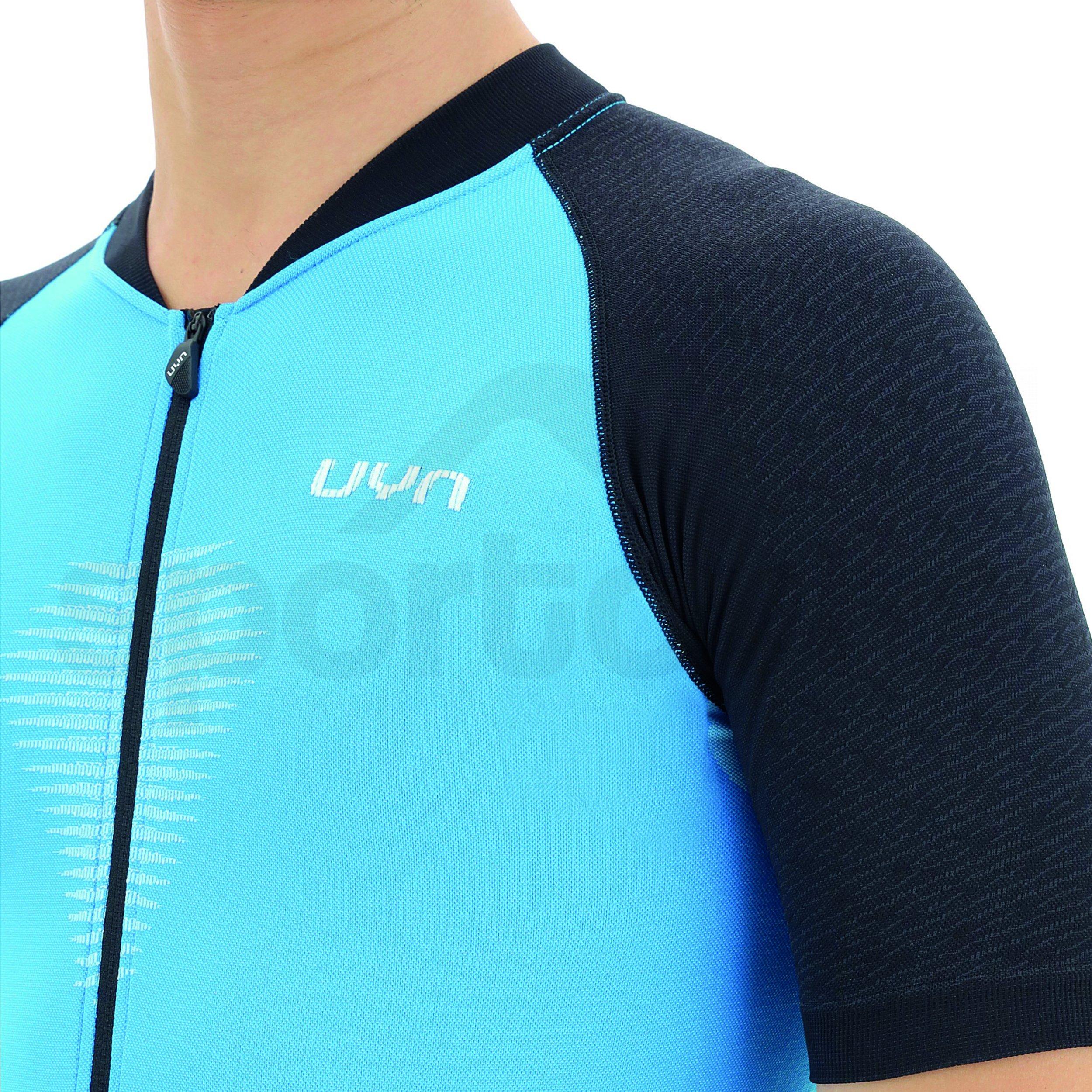Cyklistický dres UYN Biking Grandfondo - modrá/černá