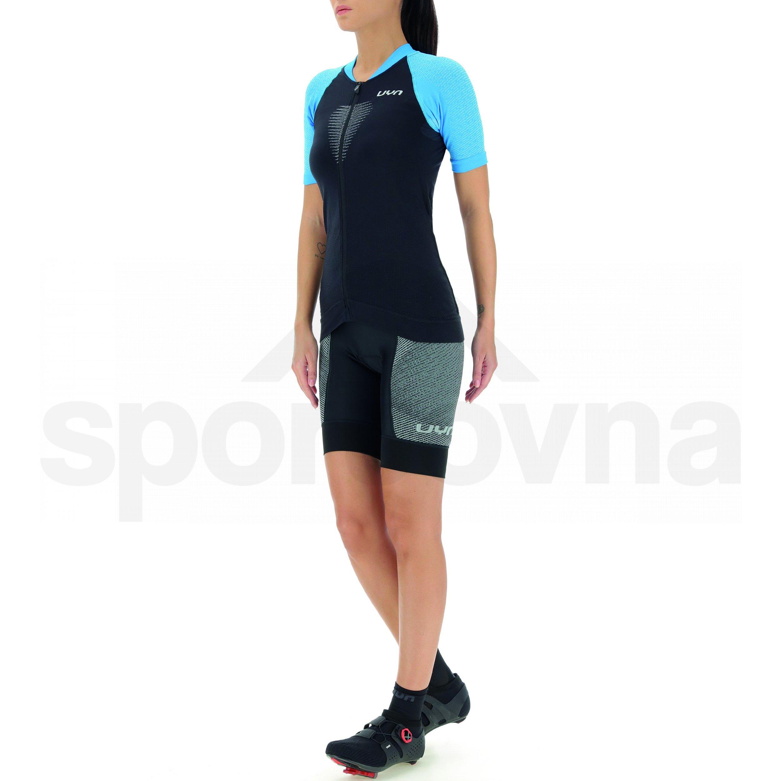 Cyklistický dres UYN Biking Grandfondo W - černá/modrá