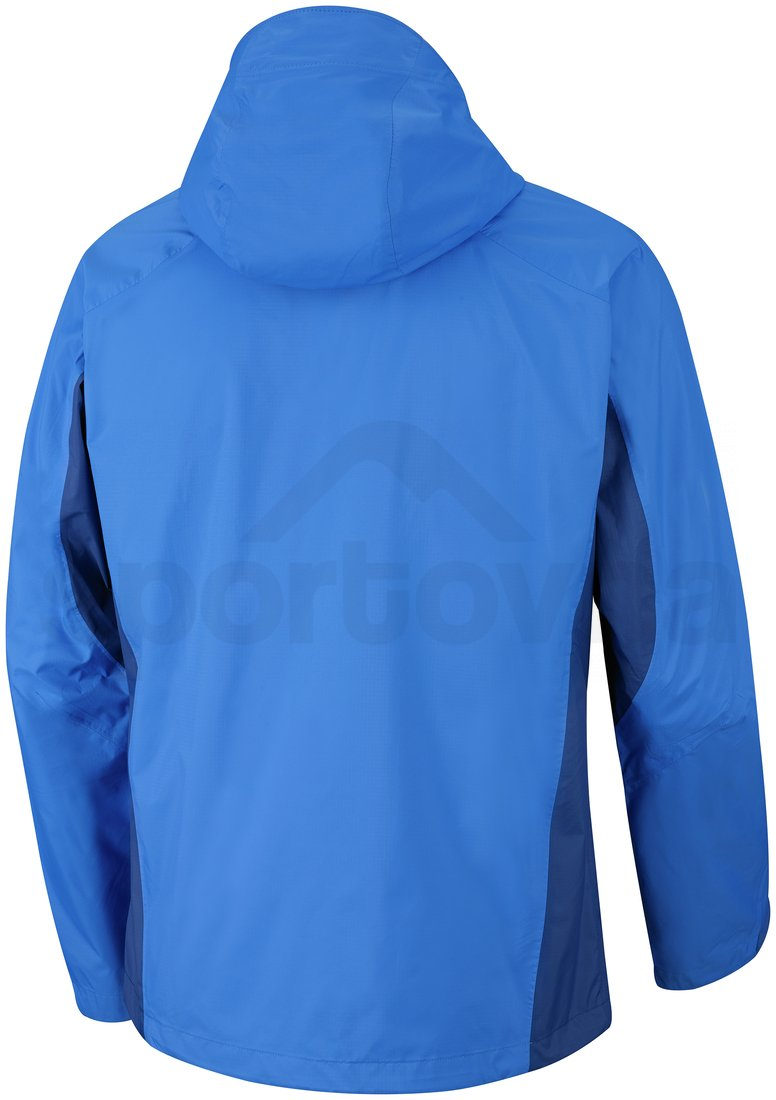 Bunda Columbia Rainstormer Jacket M - modrá