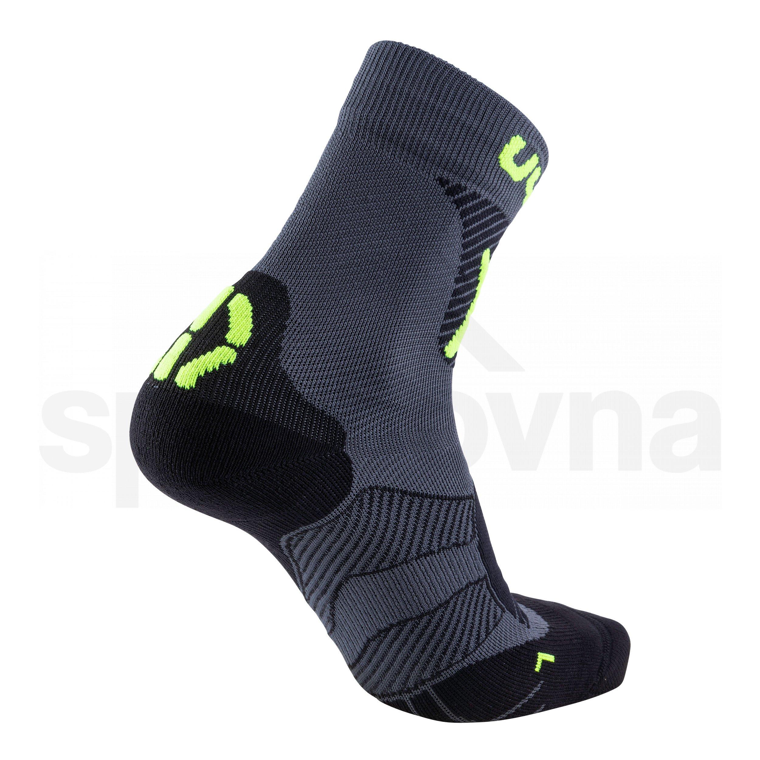 Ponožky UYN CYCLING MTB - šedá/žlutá