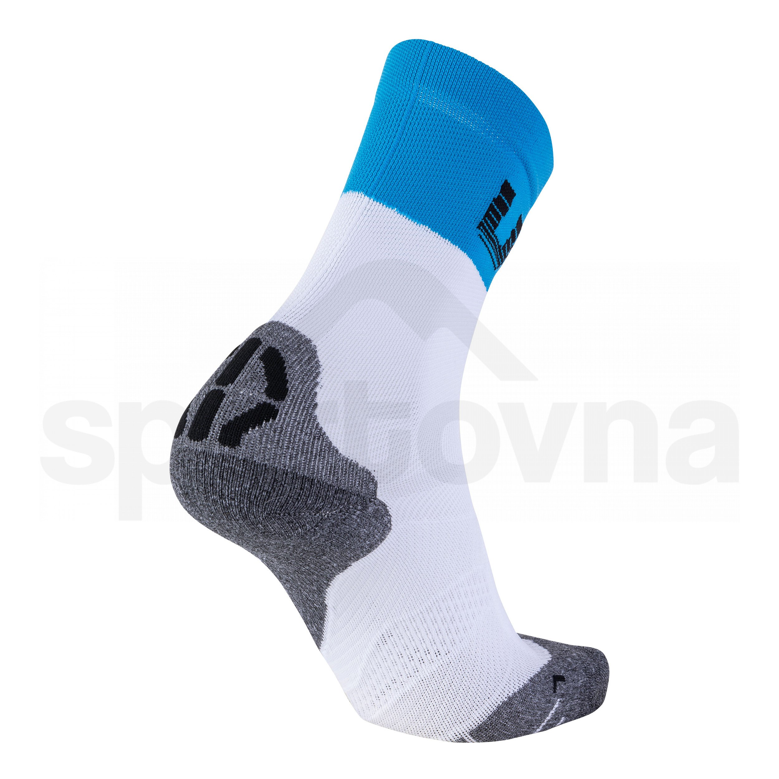 Pánské ponožky UYN CYCLING LIGHT SOCKS - bílá/modrá