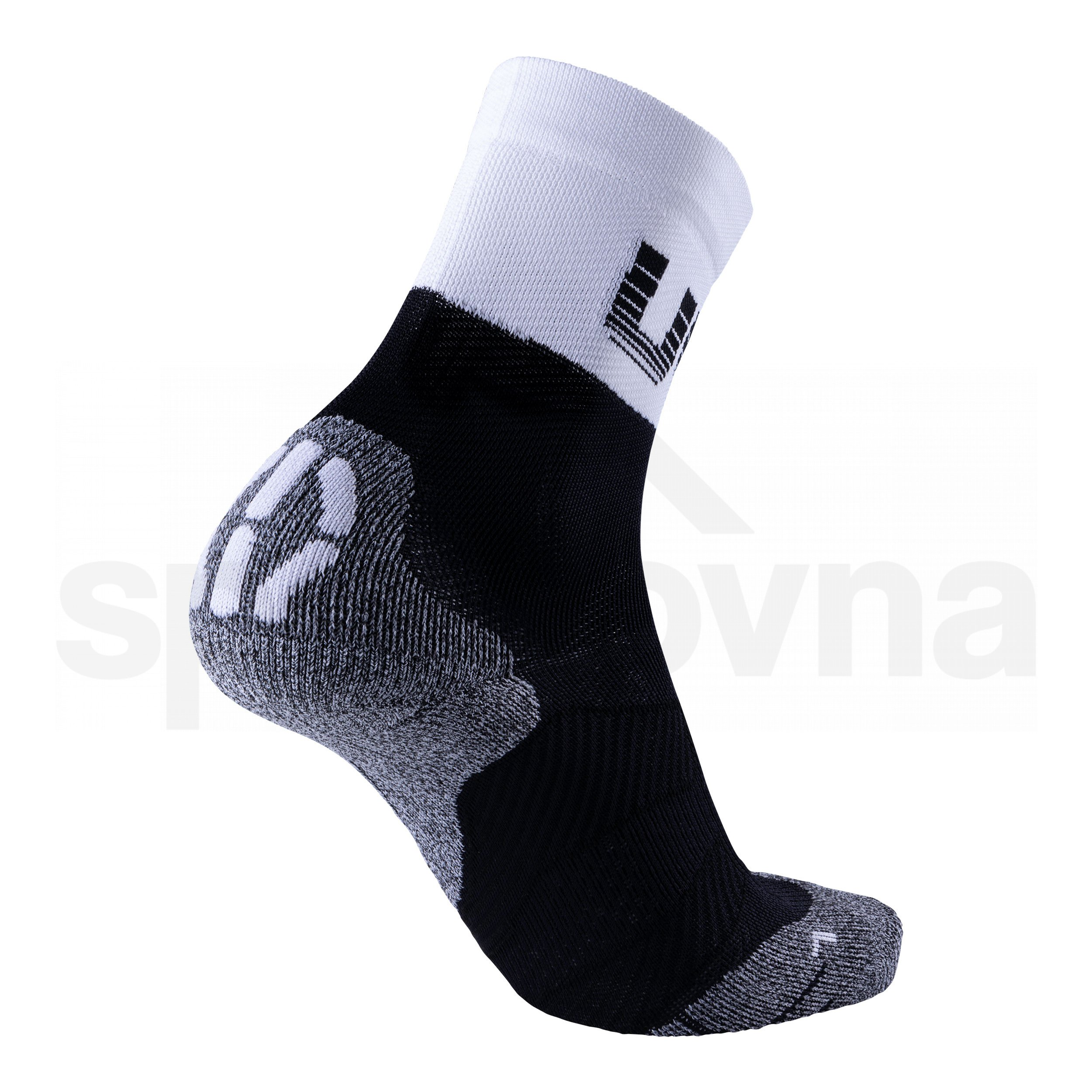 Dámské ponožky UYN CYCLING LIGHT SOCKS - černá/bílá