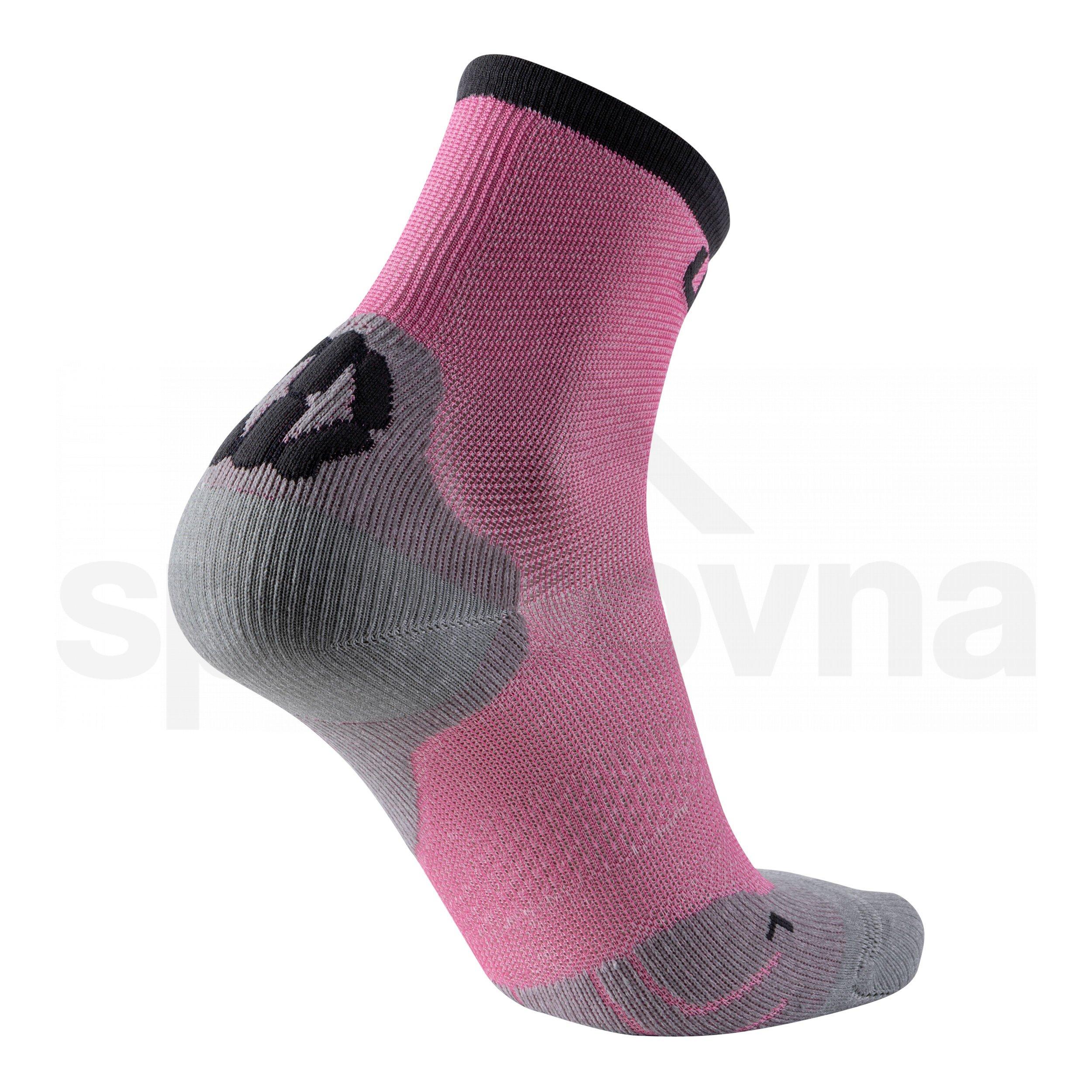 Ponožky UYN CYCLING SUPERLEGGERA - růžová/černá