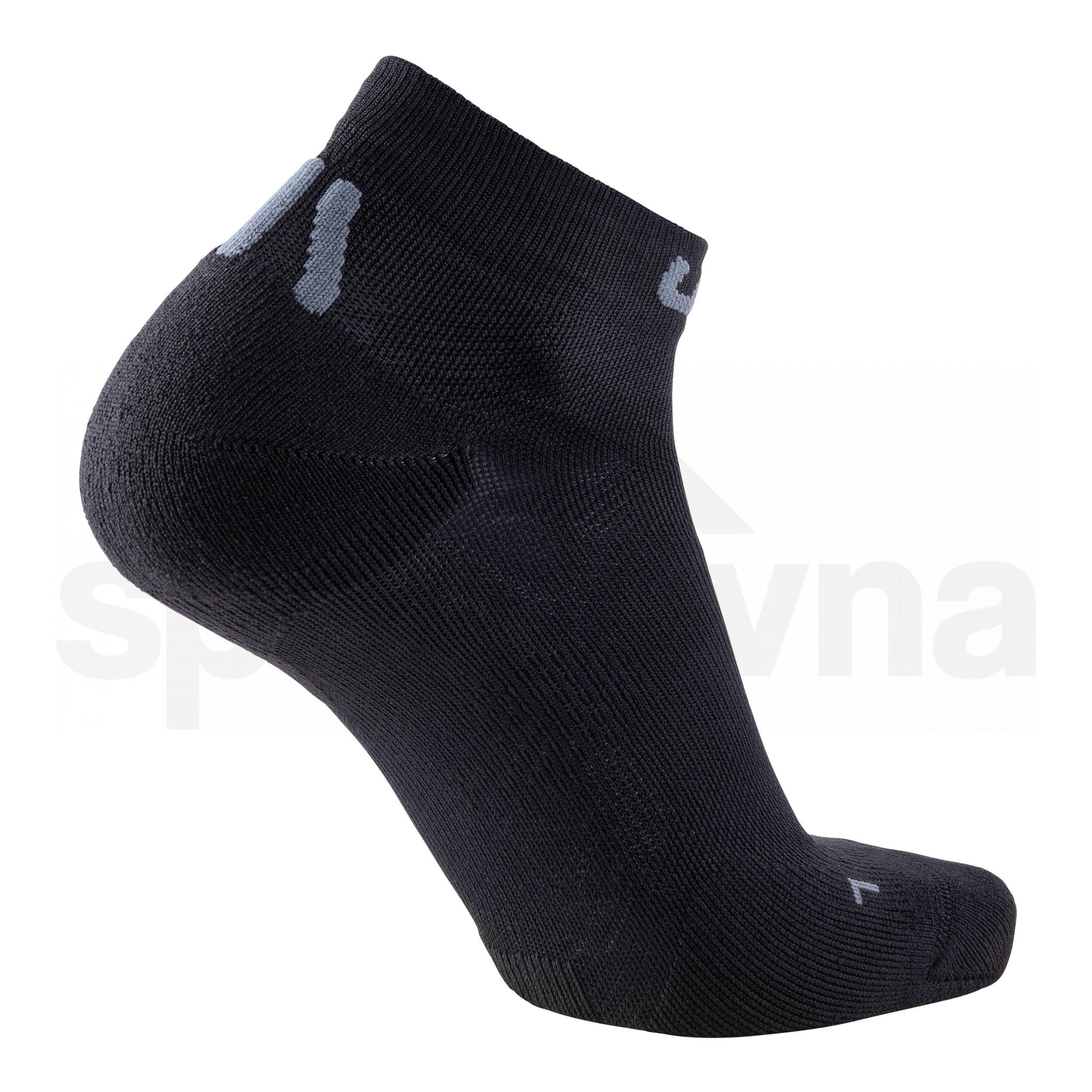 Dámské ponožky UYN TRAINER ANKLE - černá/šedá