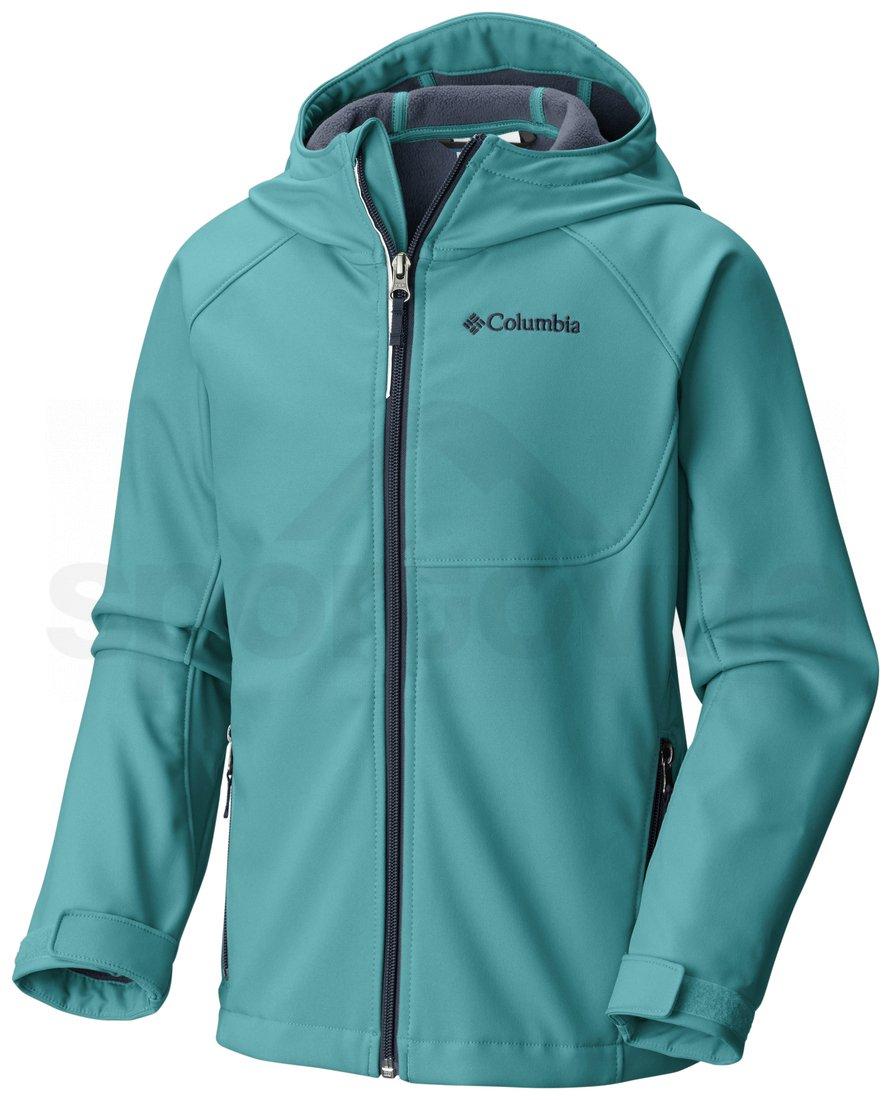 Bunda Columbia Cascade Ridge™ Softshell J - modrá