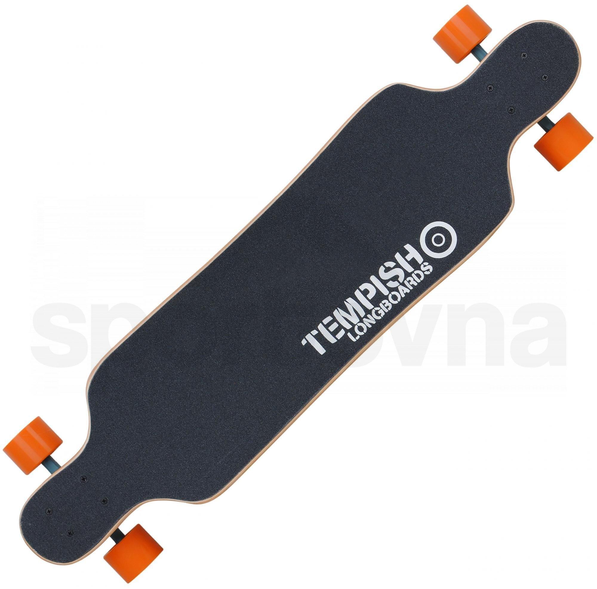 Longboard Tempish Mazak - oranžová/černá