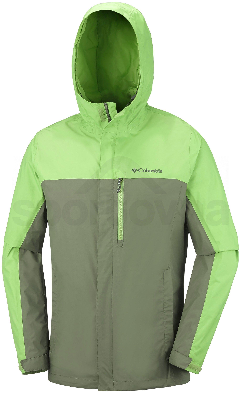 Bunda Columbia Pouring Adventure™ II Jacket M - zelená