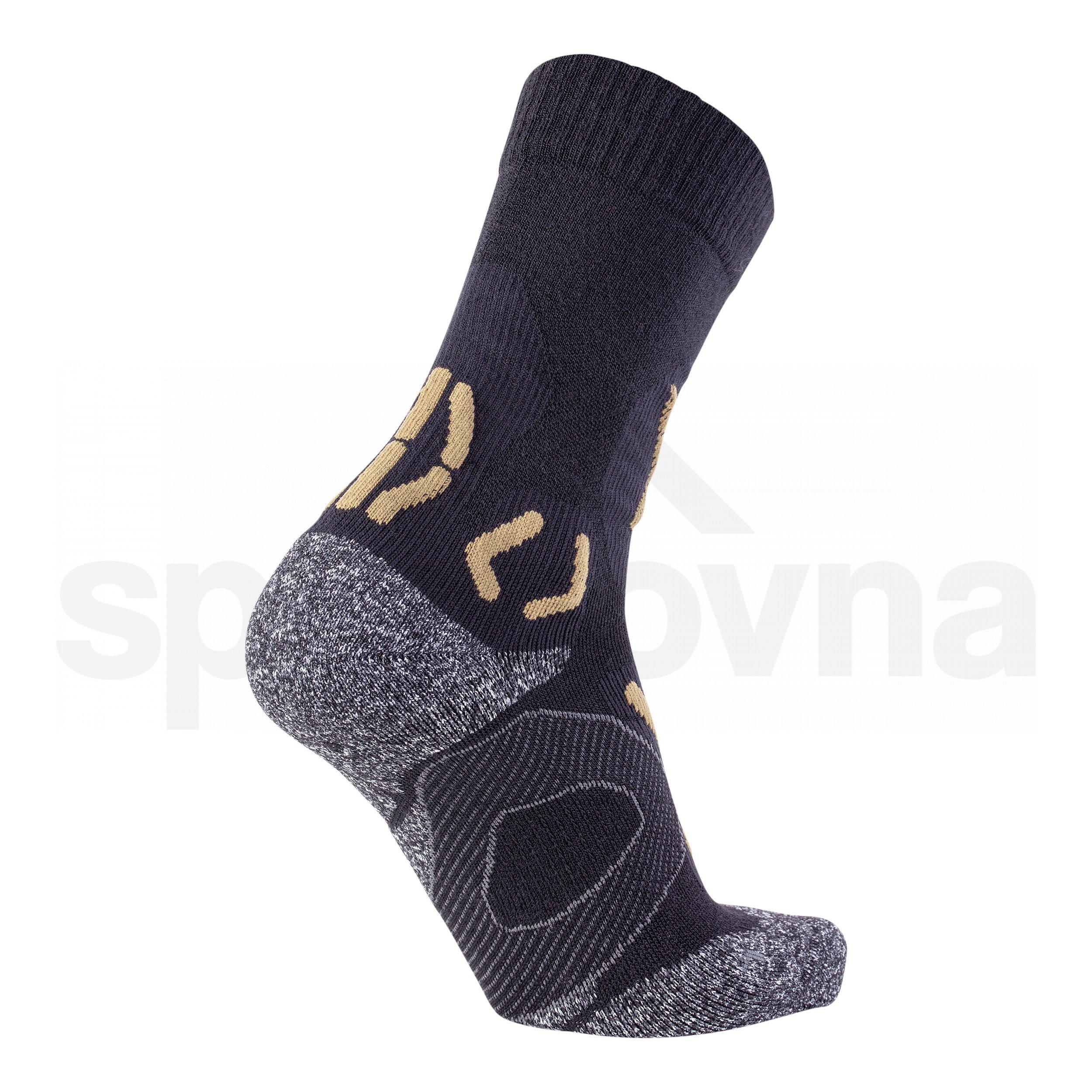 Pánské ponožky UYN TREKKING NATURE MERINO - černá